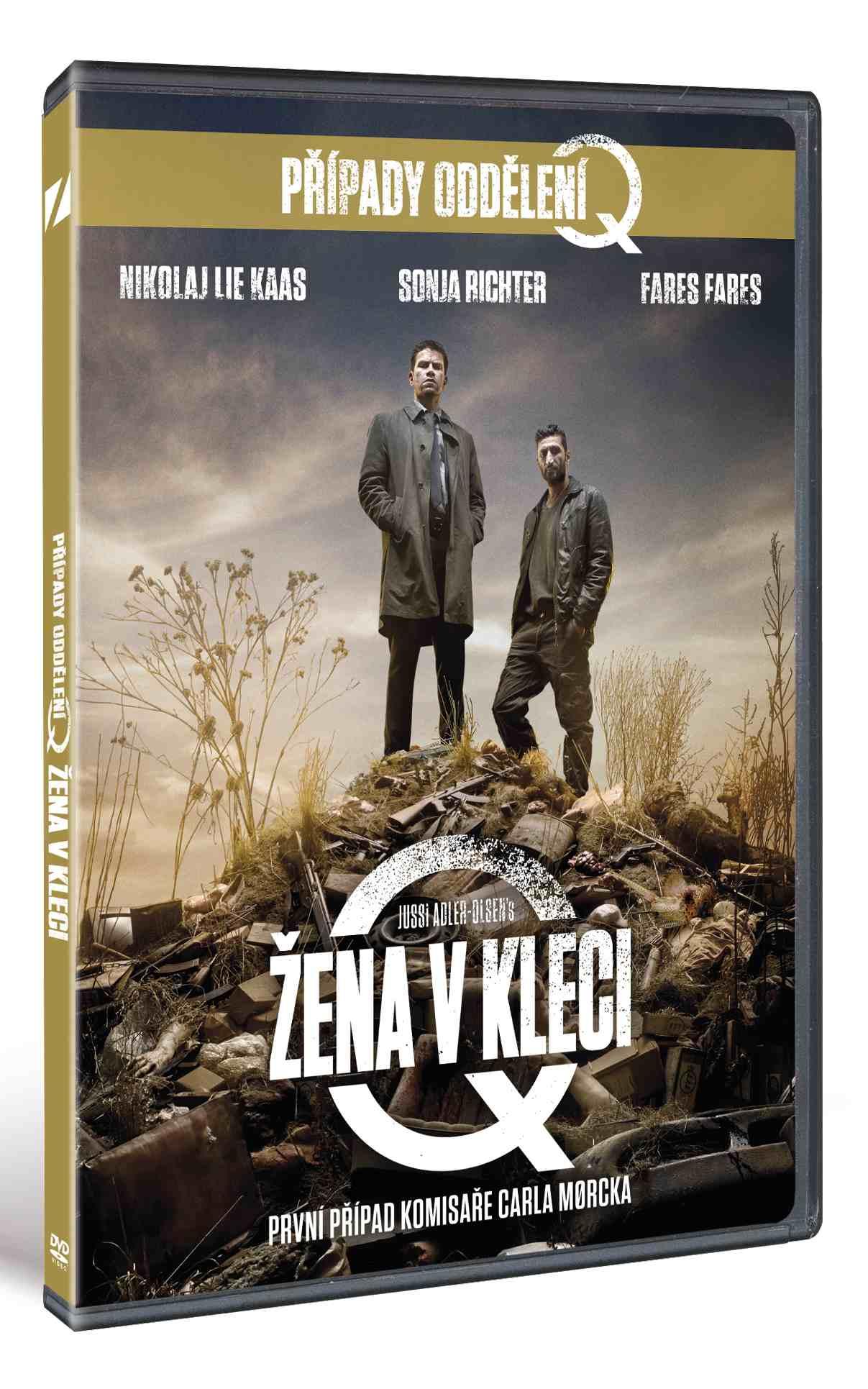 ŽENA V KLECI (Případy oddělení Q) - DVD