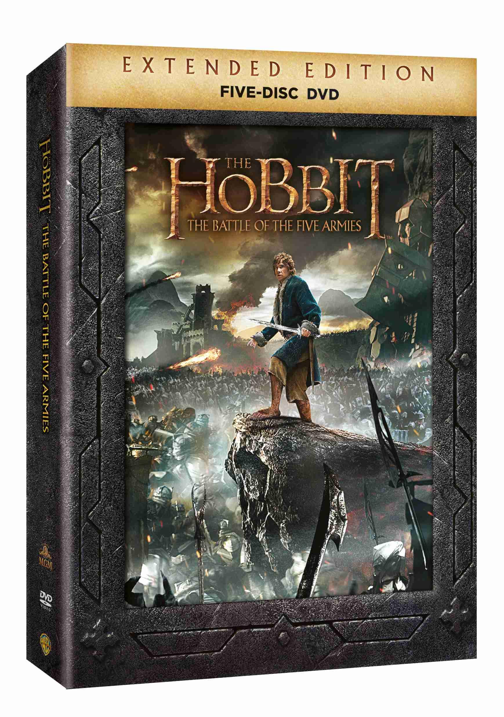 HOBIT: BITVA PĚTI ARMÁD (Prodloužená verze) - 5 DVD