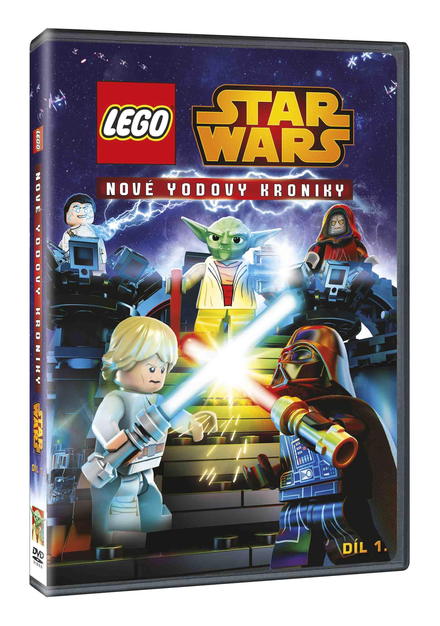 LEGO STAR WARS: NOVÉ YODOVY KRONIKY 1 - DVD