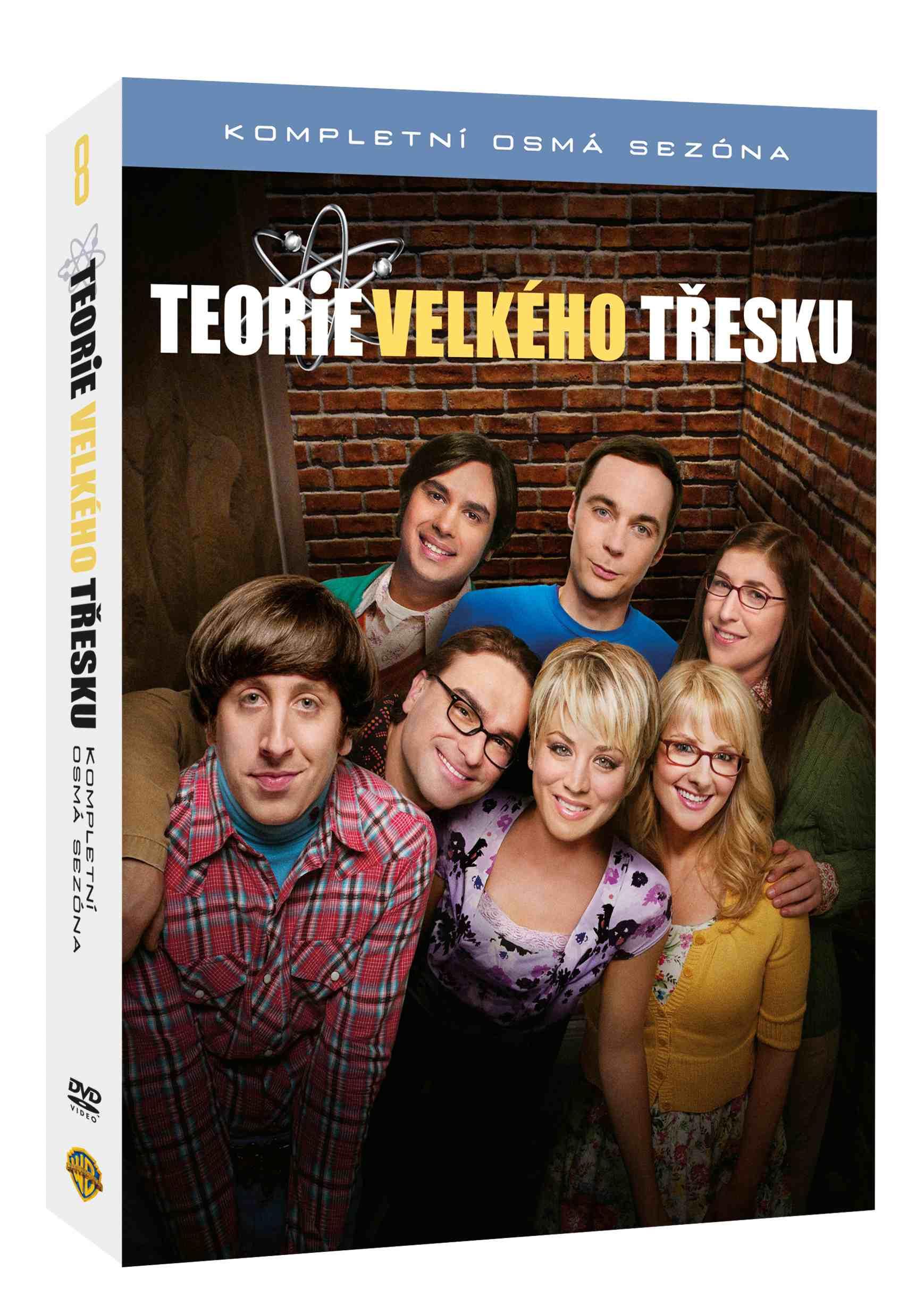 TEORIE VELKÉHO TŘESKU 8. SEZÓNA - 3 DVD