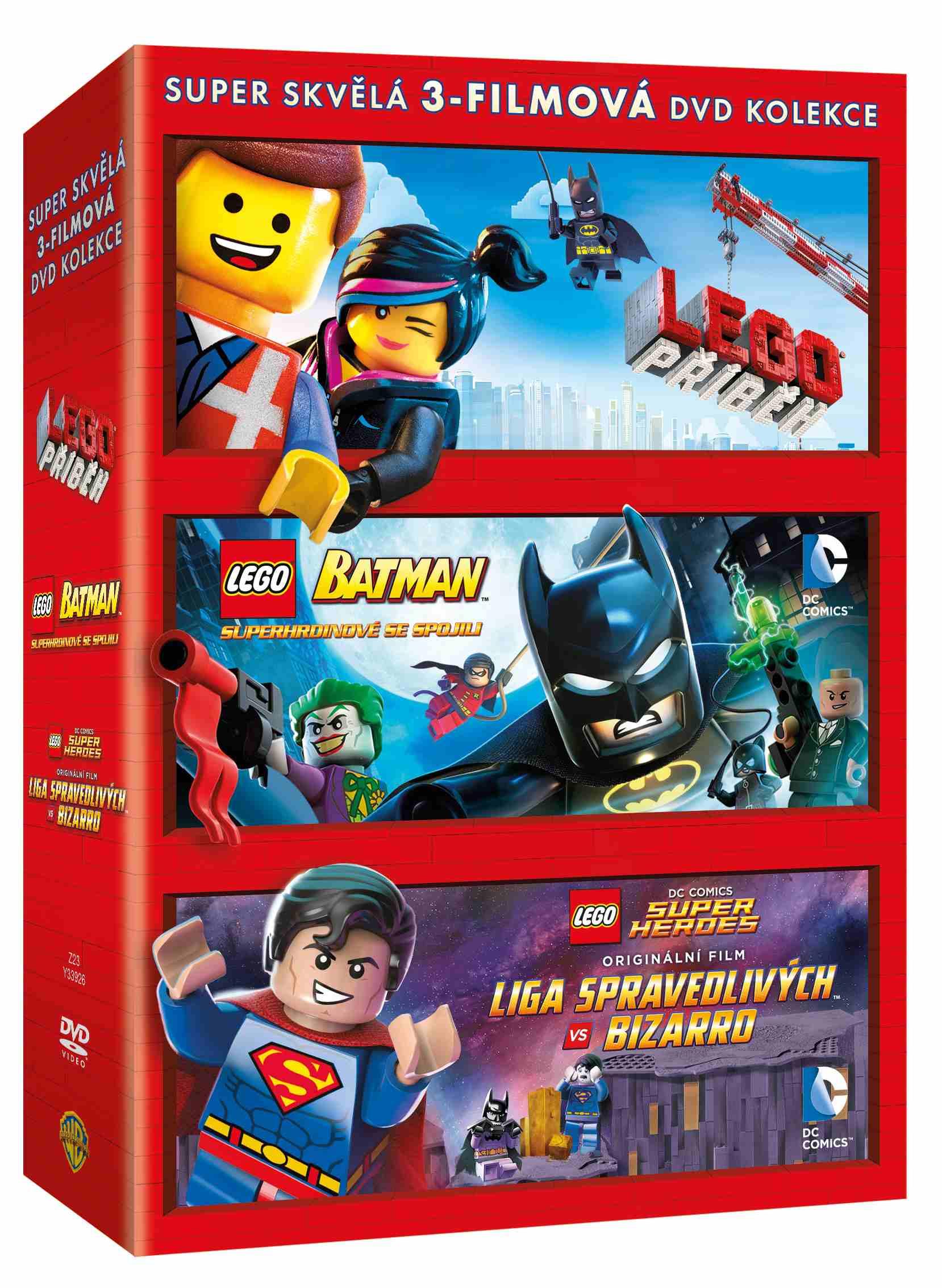 LEGO KOLEKCE (2015) - 3 DVD