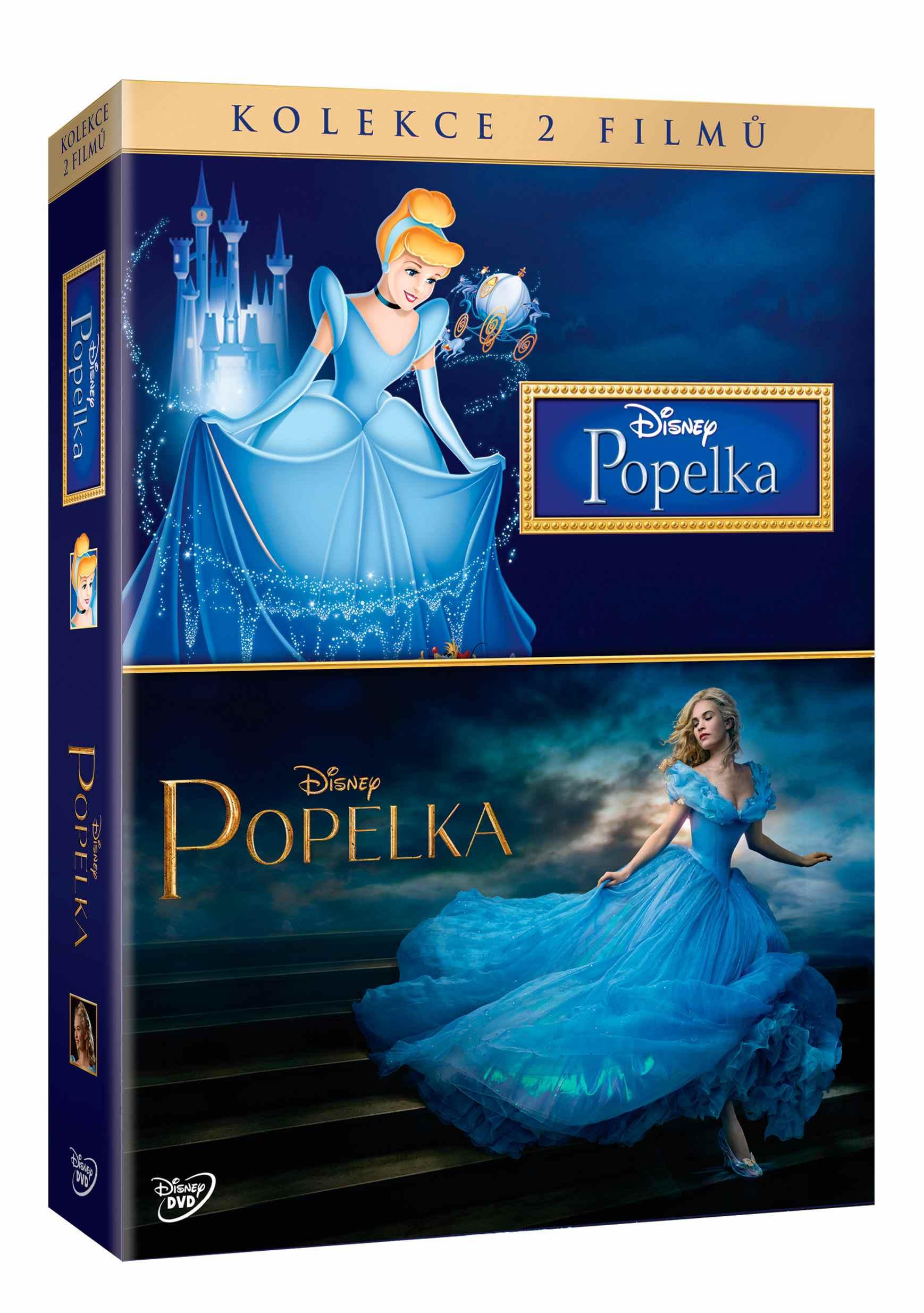 POPELKA (2015) + POPELKA (1950) - KOLEKCE - 2 DVD