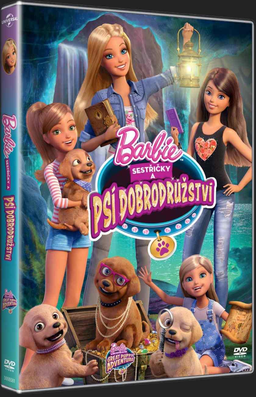 BARBIE - PSÍ DOBRODRUŽSTVÍ - DVD