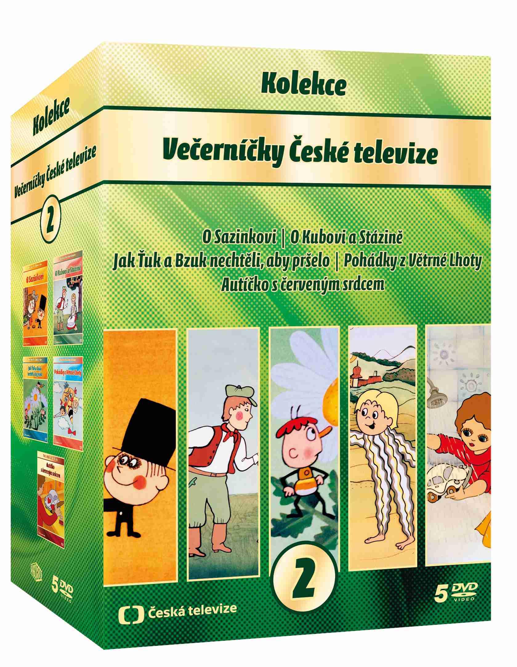 VEČERNÍČKY KOLEKCE 2 - 5 DVD