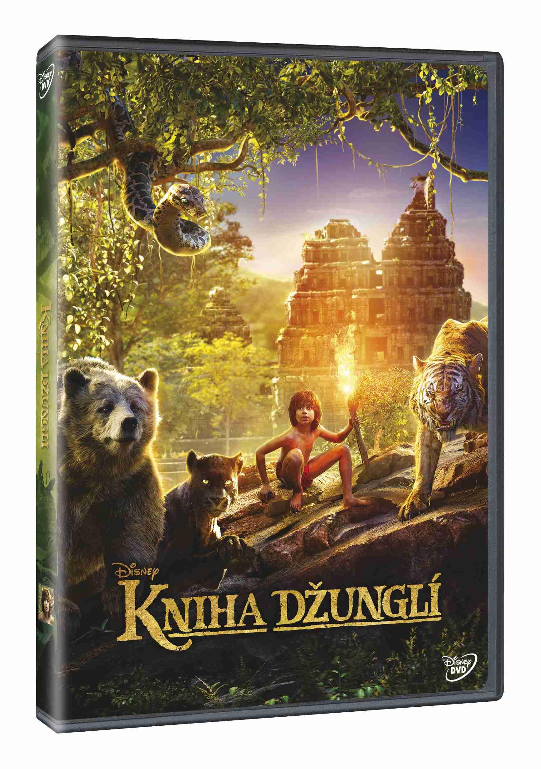 KNIHA DŽUNGLÍ (2016) - DVD