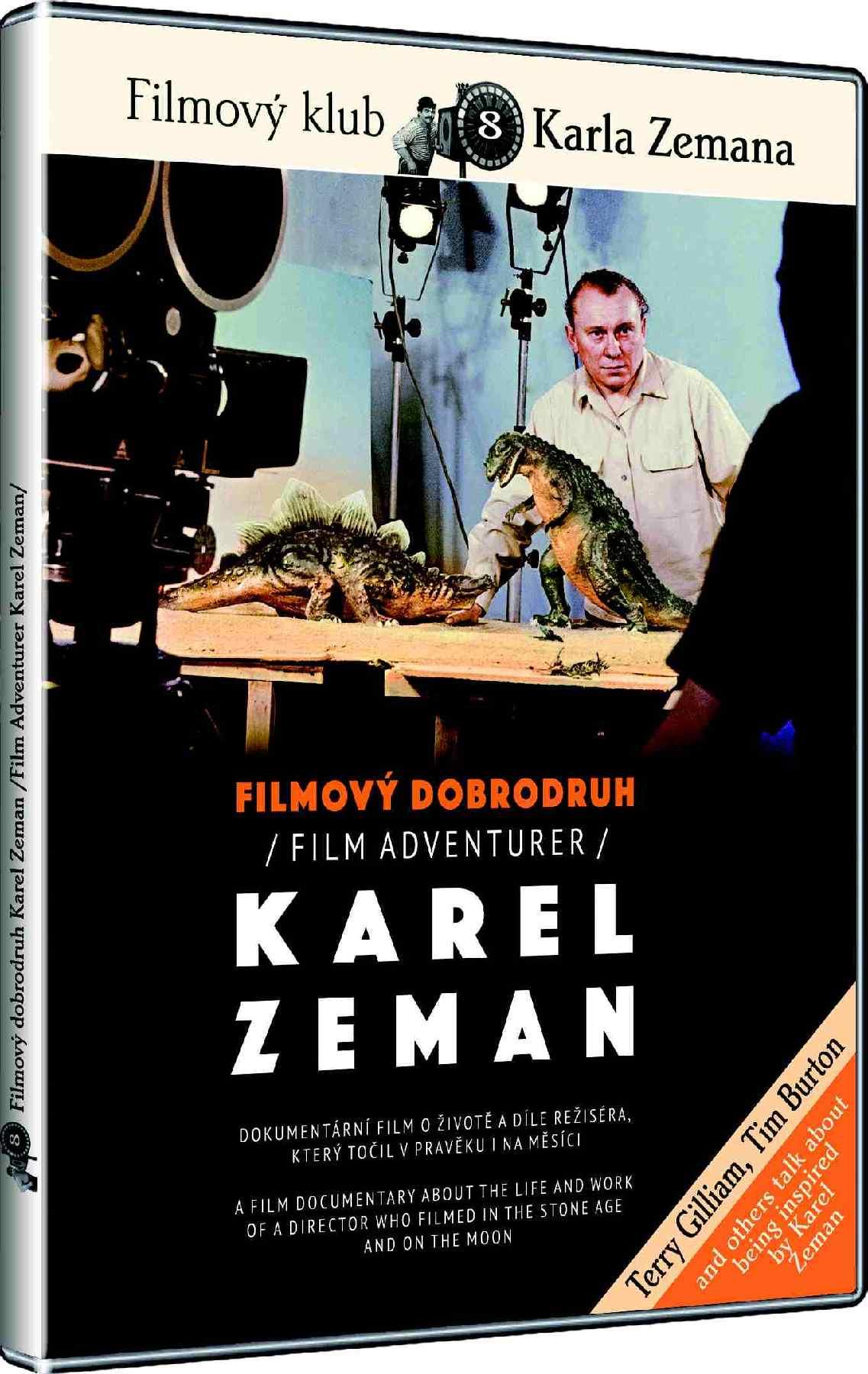 FILMOVÝ DOBRODRUH KAREL ZEMAN - DVD