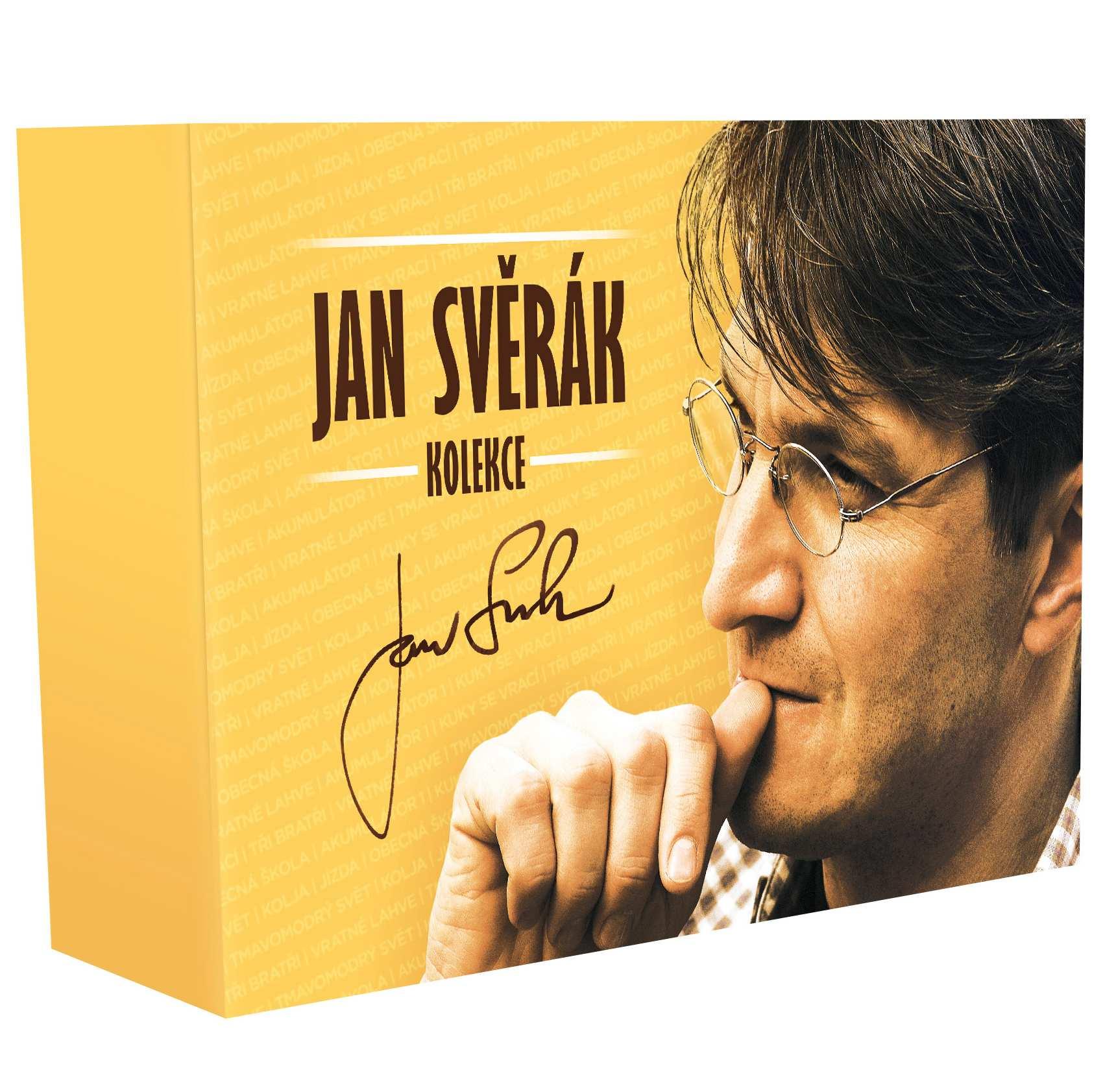 JAN SVĚRÁK - KOLEKCE FILMŮ - 8 DVD
