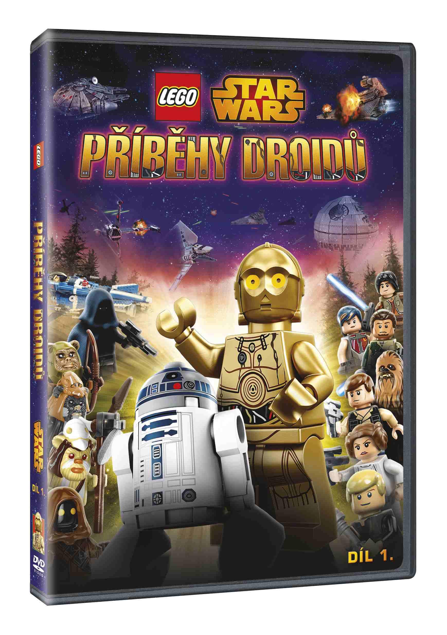LEGO STAR WARS: PŘÍBĚHY DROIDŮ 1 - DVD