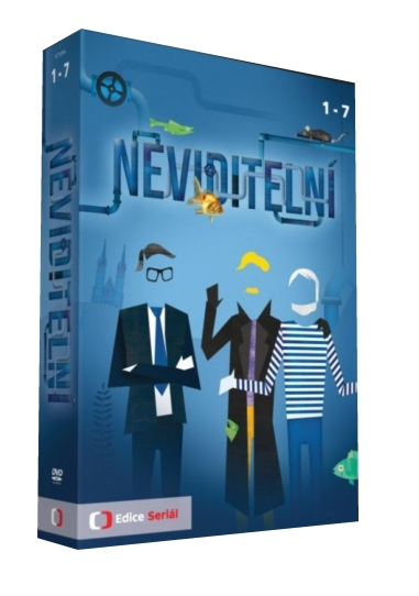 NEVIDITELNÍ - 13 DVD