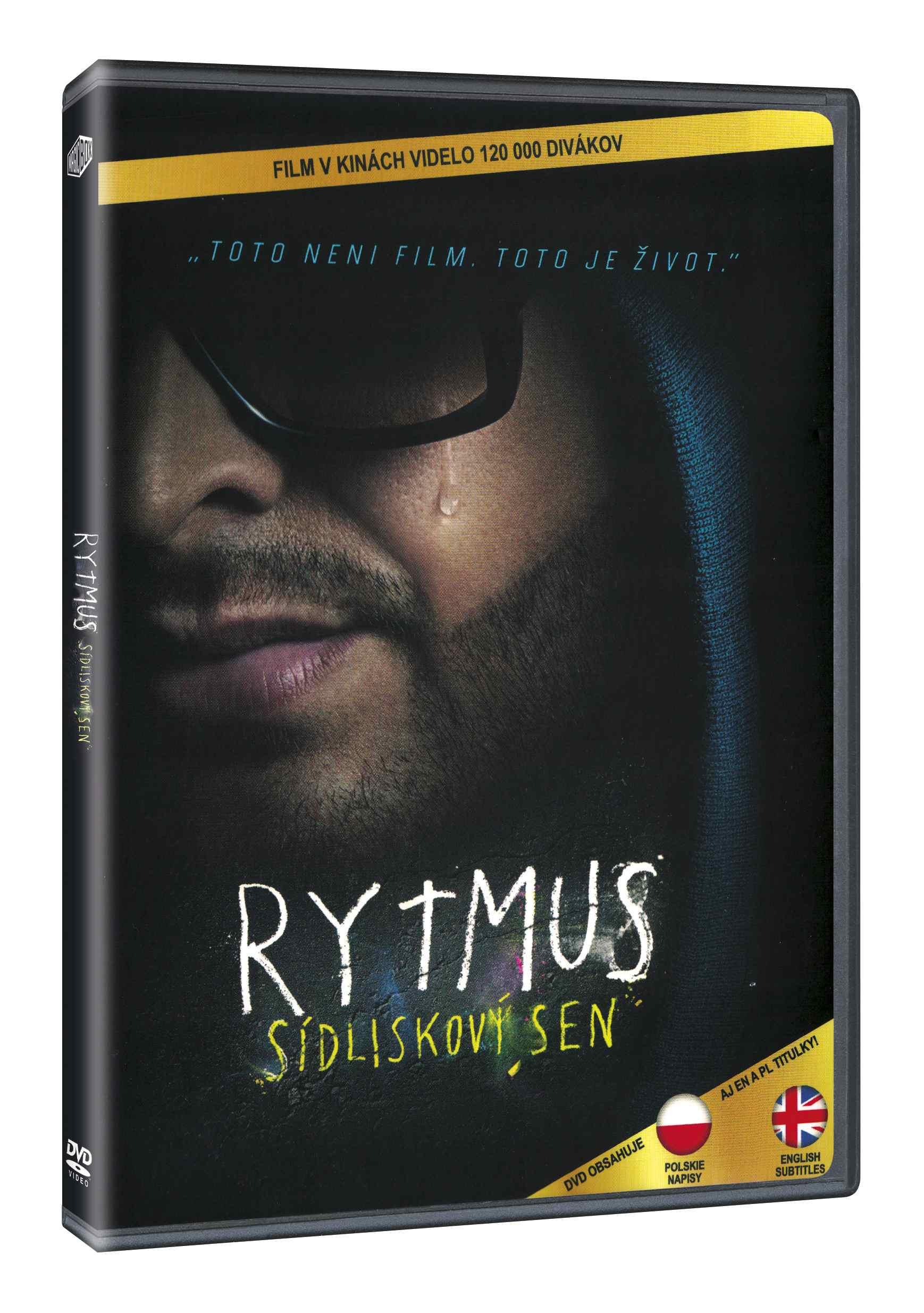 RYTMUS sídliskový sen - DVD