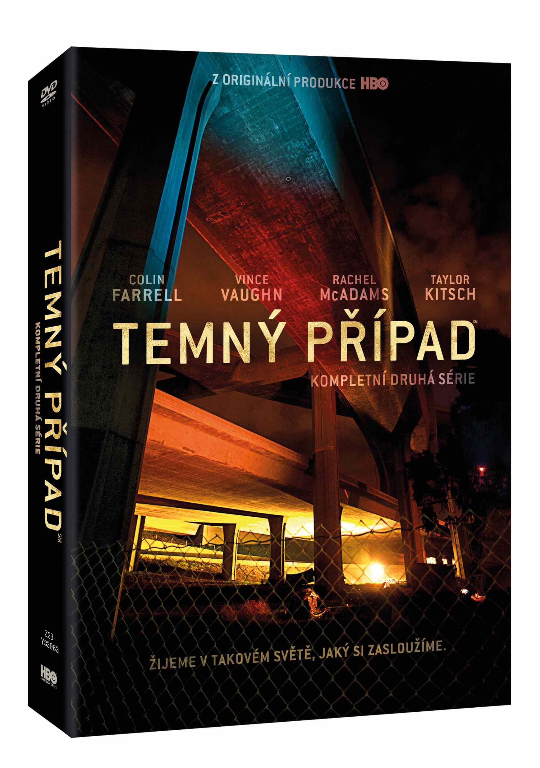 TEMNÝ PŘÍPAD - 2. SÉRIE - DVD