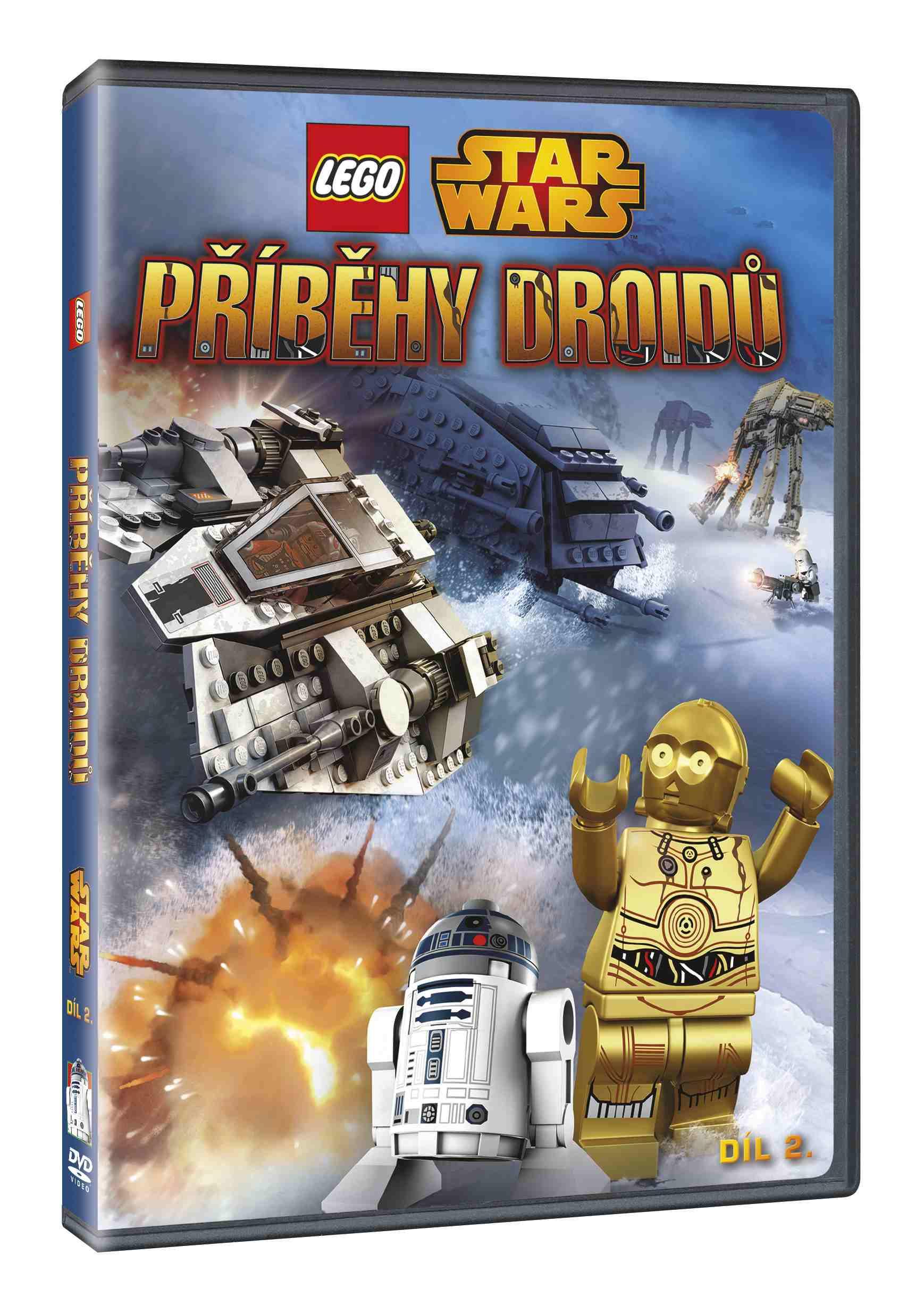 LEGO STAR WARS: PŘÍBĚHY DROIDŮ 2 - DVD