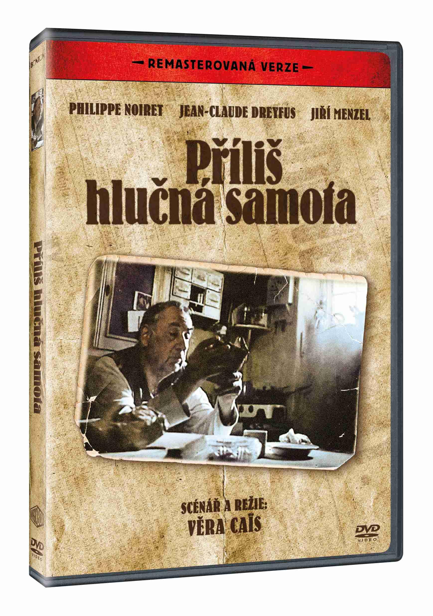 PŘÍLIŠ HLUČNÁ SAMOTA (Remasterovaná verze) - DVD