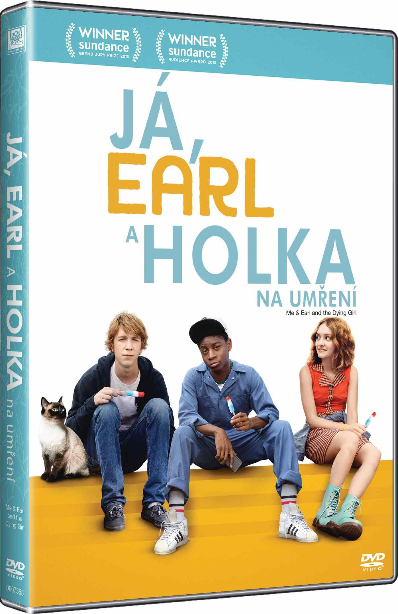 JÁ, EARL A HOLKA NA UMŘENÍ - DVD