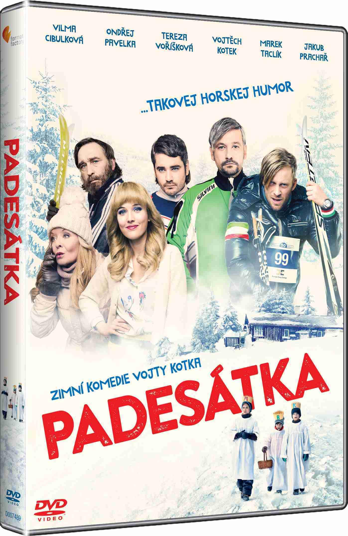 PADESÁTKA - DVD