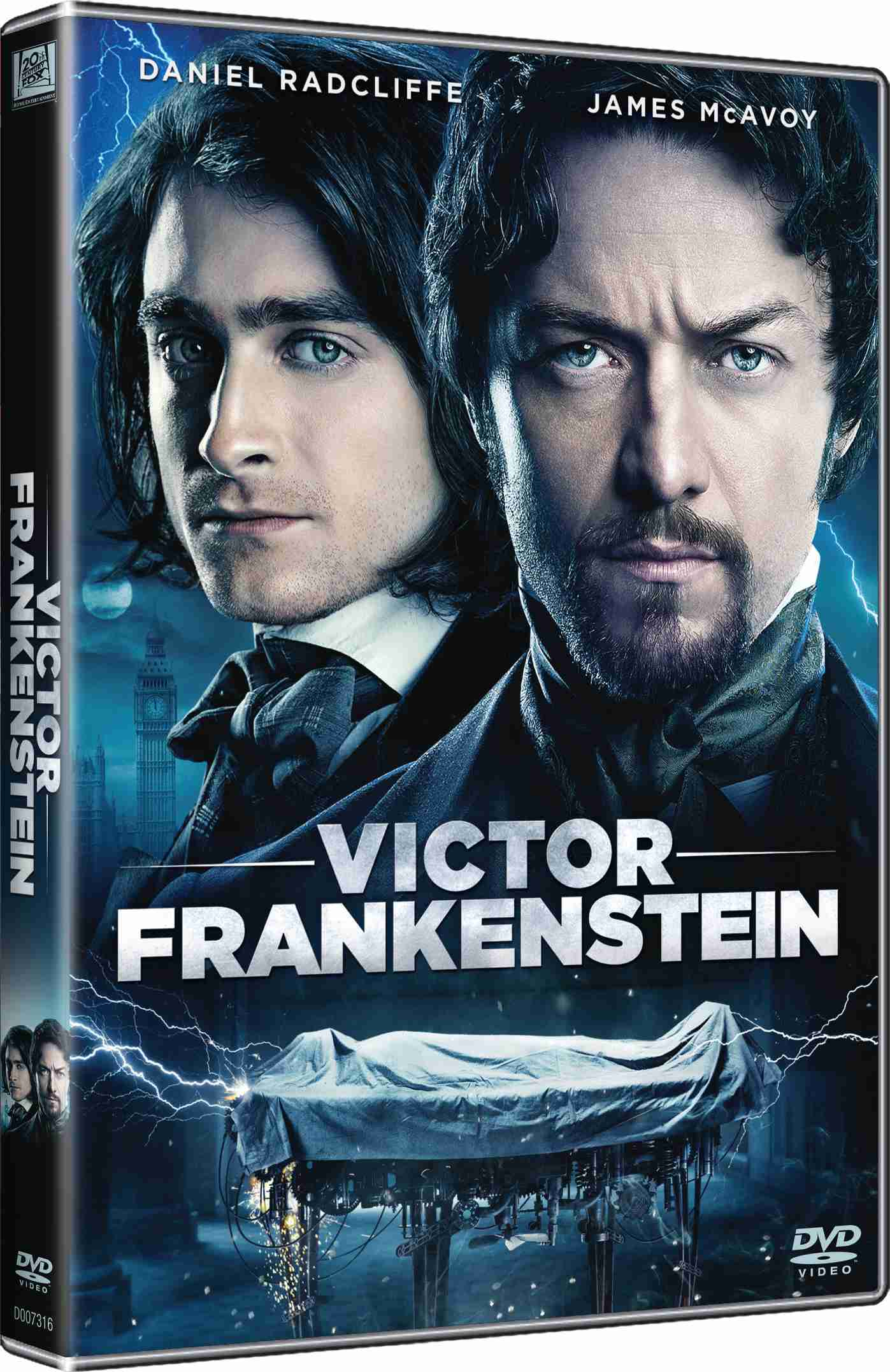 VICTOR FRANKENSTEIN - DVD