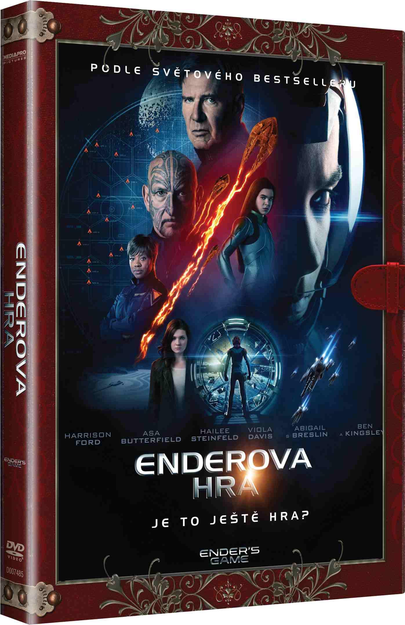 Enderova hra (Knižní edice) - DVD