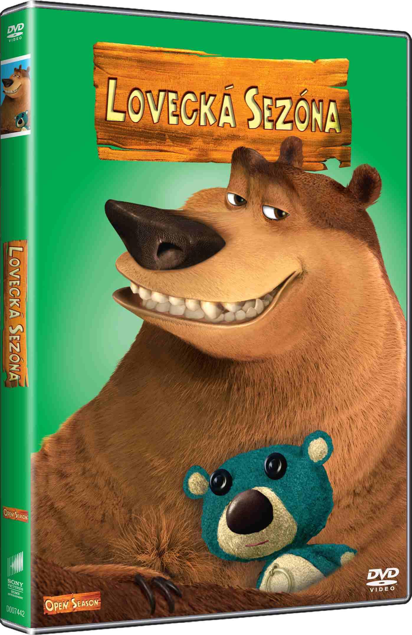 LOVECKÁ SEZÓNA (Big Face) - DVD