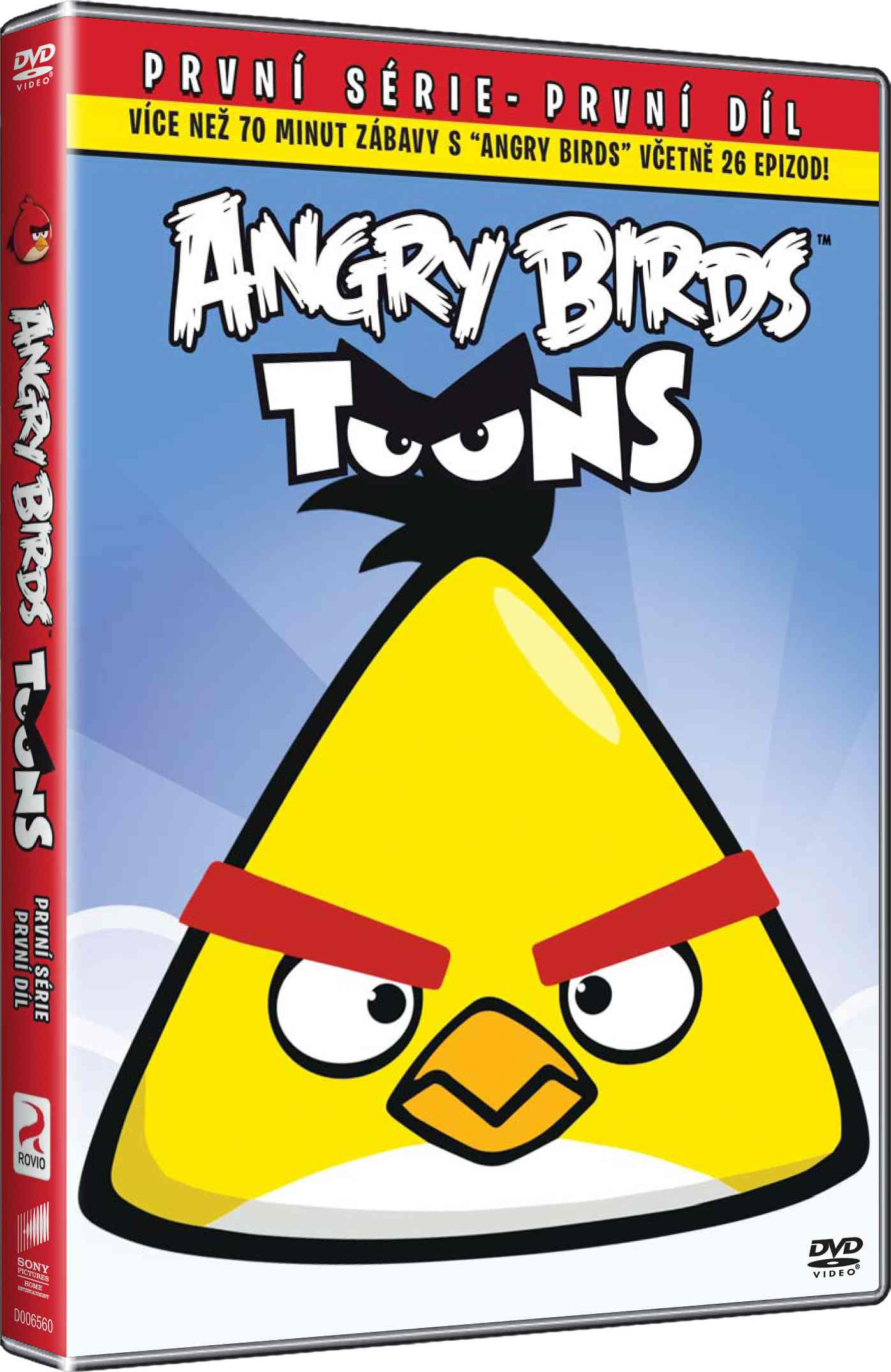 ANGRY BIRDS TOONS 1 (Big Face) - DVD