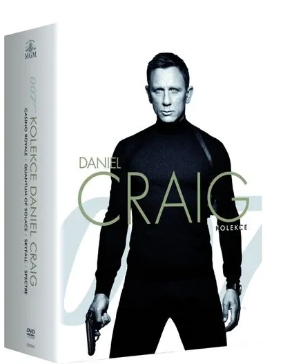 JAMES BOND: DANIEL CRAIG - KOLEKCE - 4 DVD