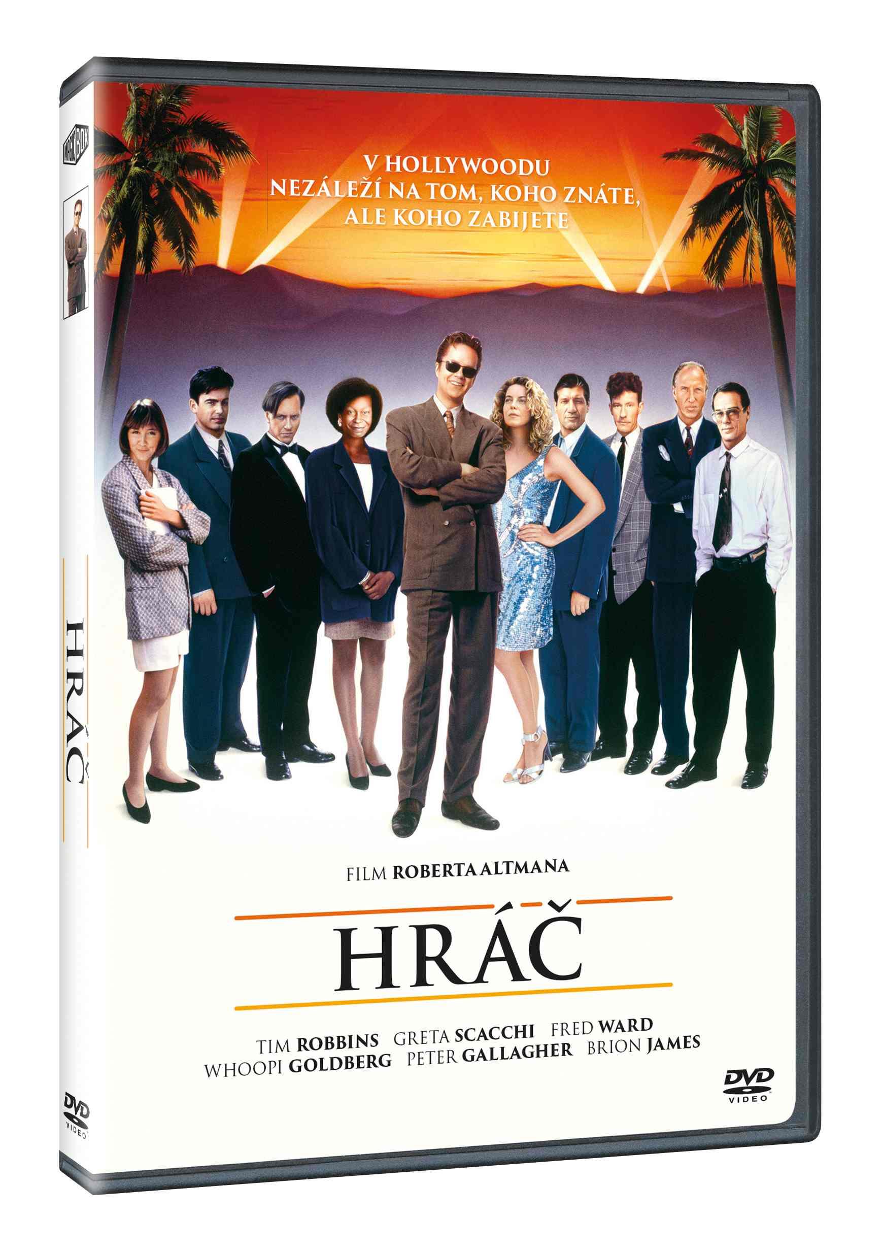 HRÁČ - DVD