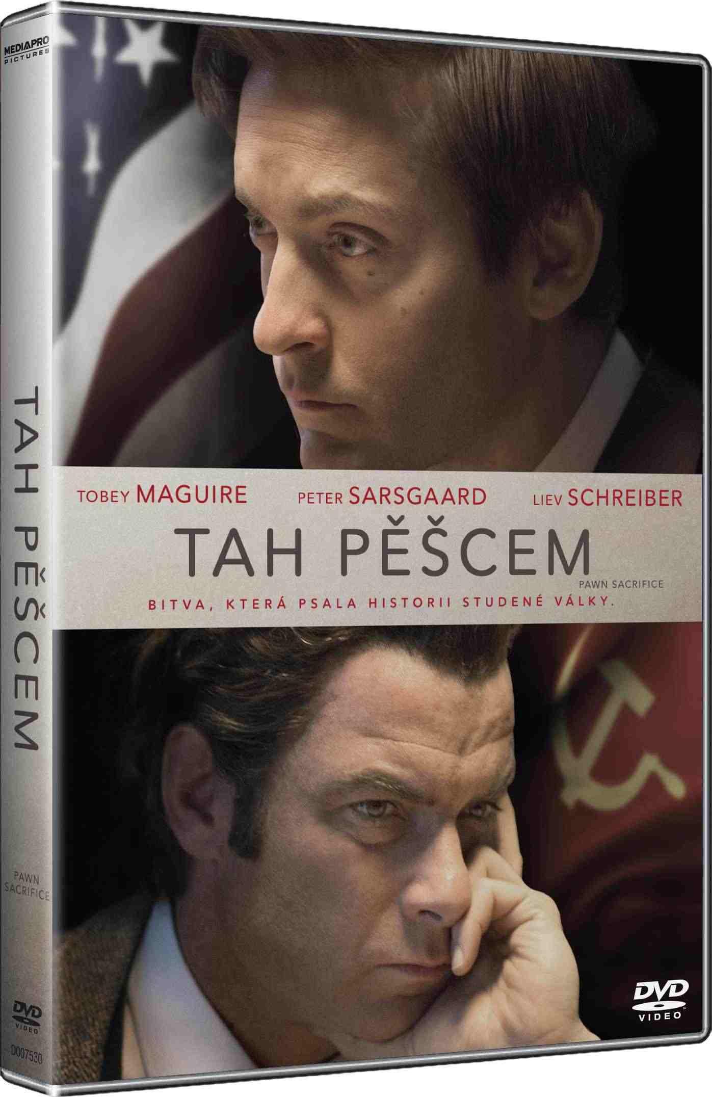 TAH PĚŠCEM - DVD