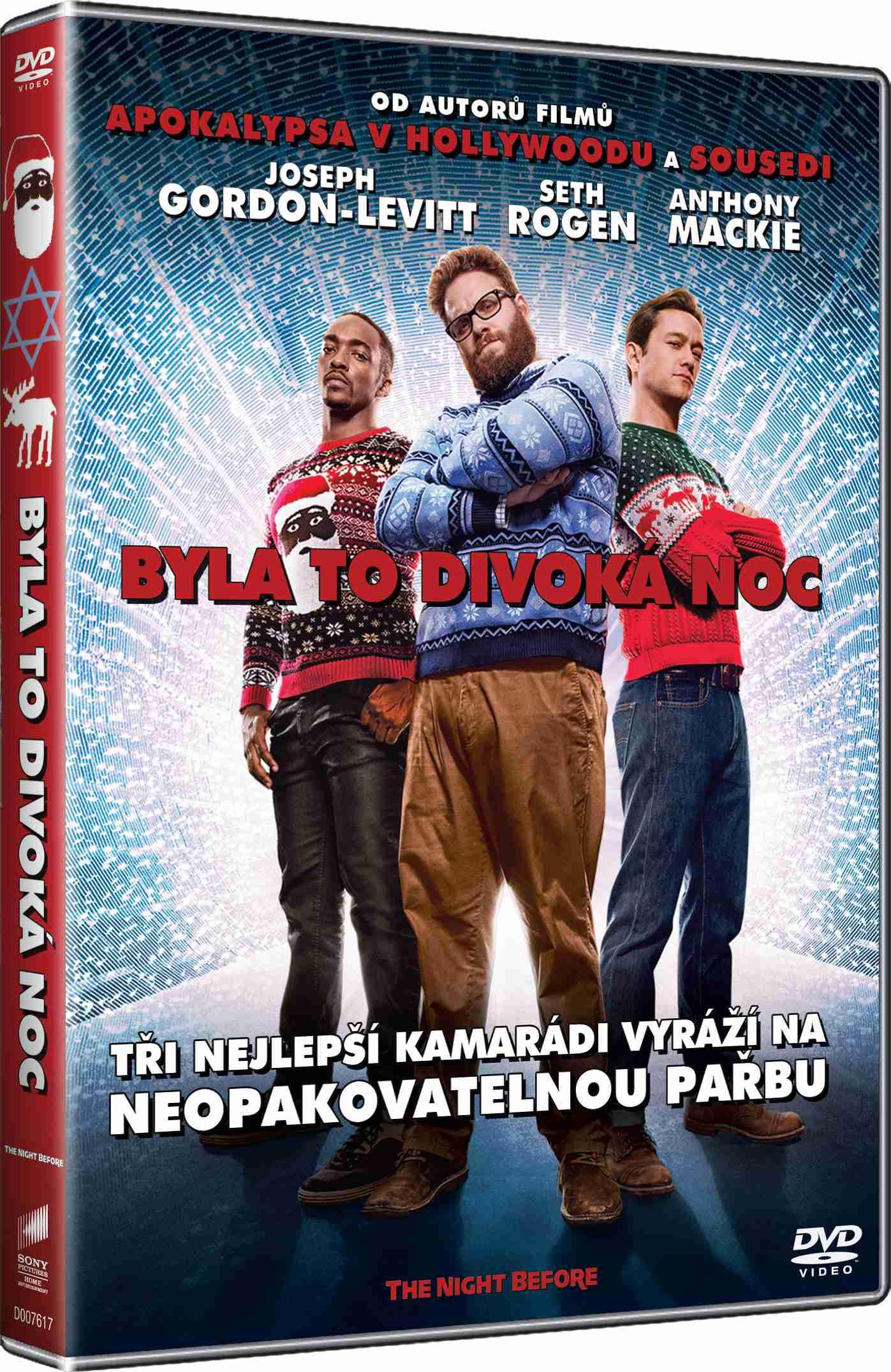 BYLA TO DIVOKÁ NOC - DVD