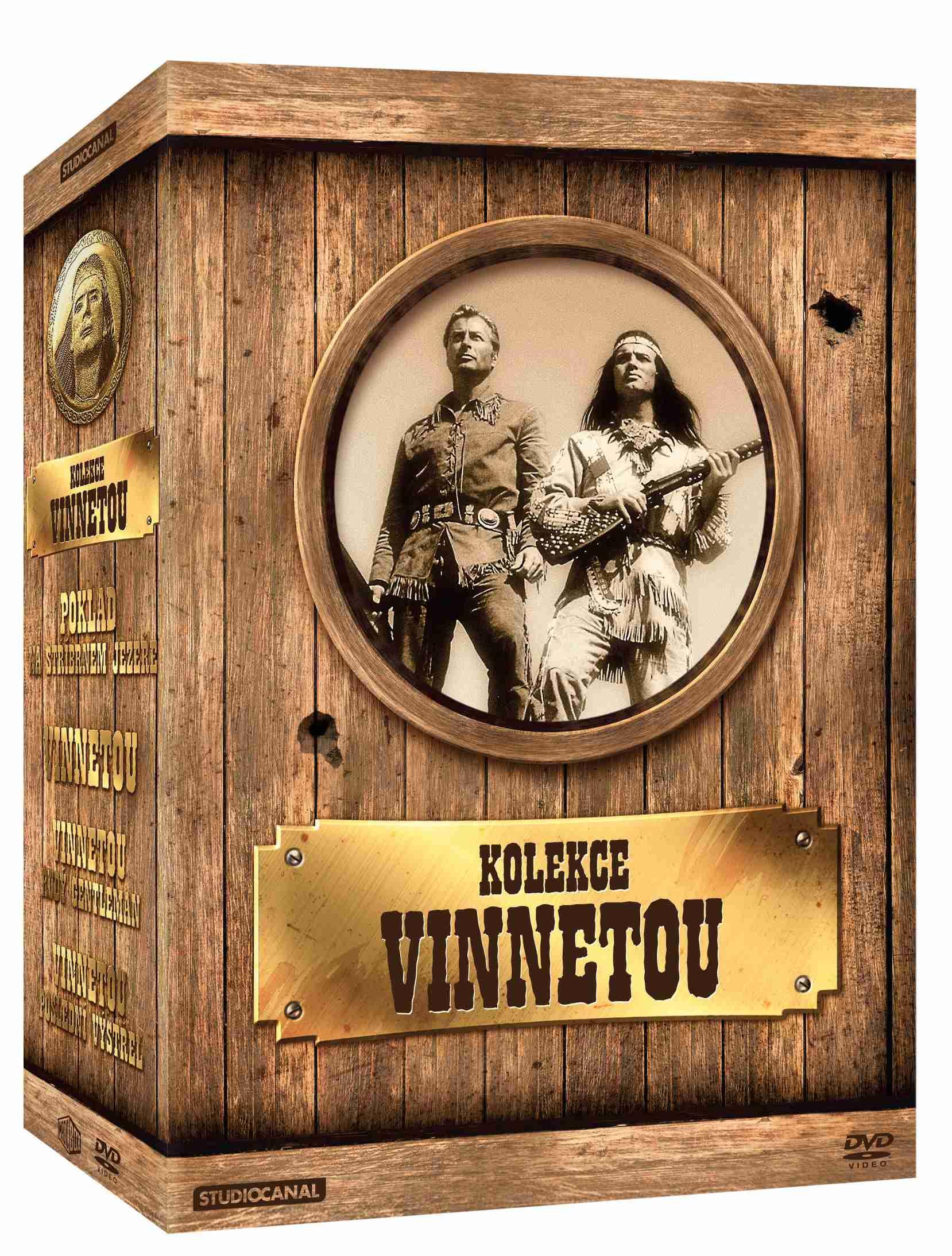 VINNETOU KOLEKCE - 4 DVD