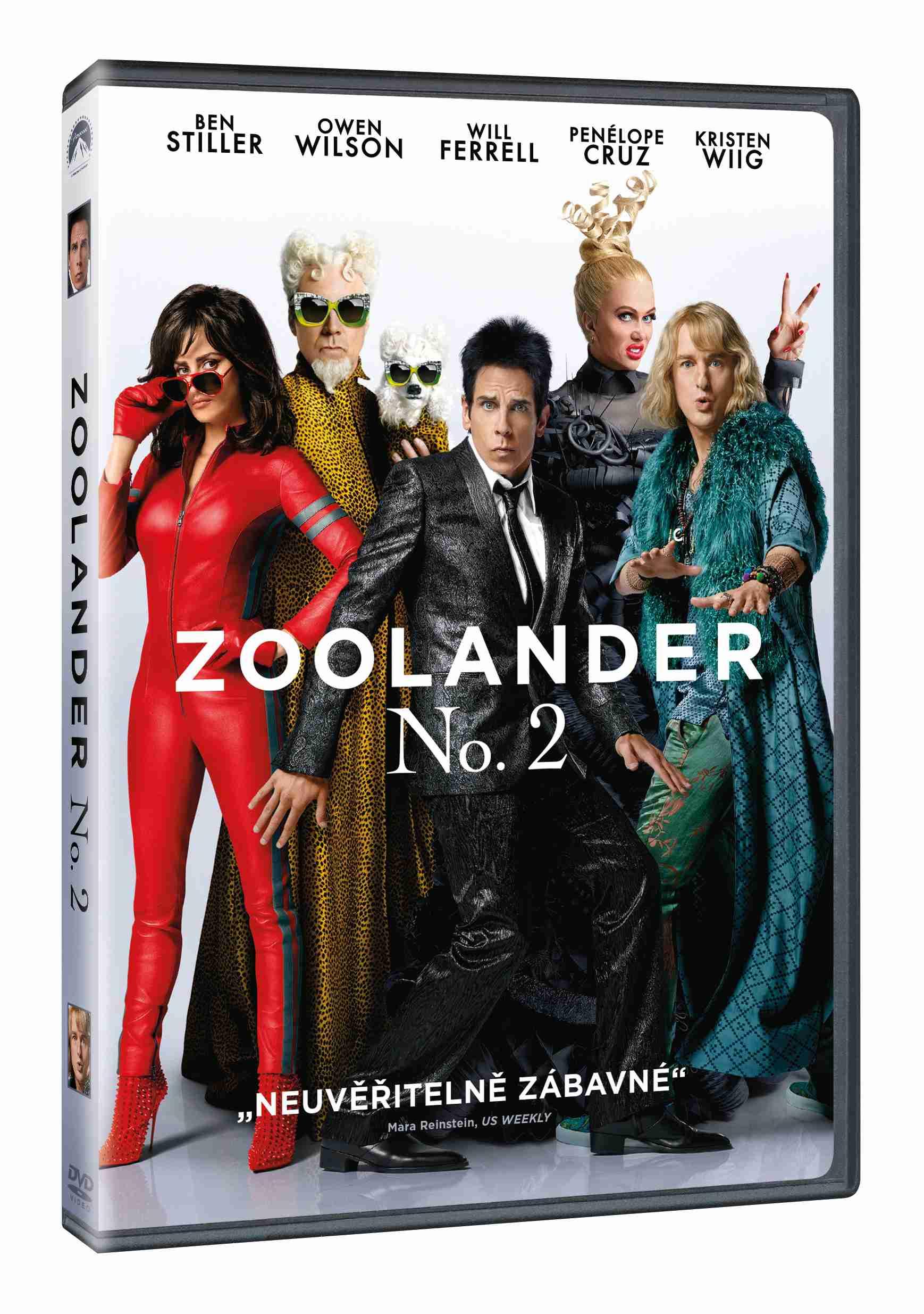 ZOOLANDER 2 - DVD