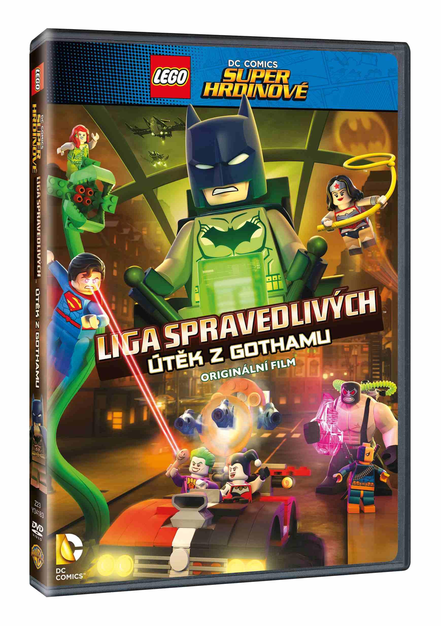 LEGO DC SUPER HRDINOVÉ: ÚTĚK Z GOTHAMU - DVD