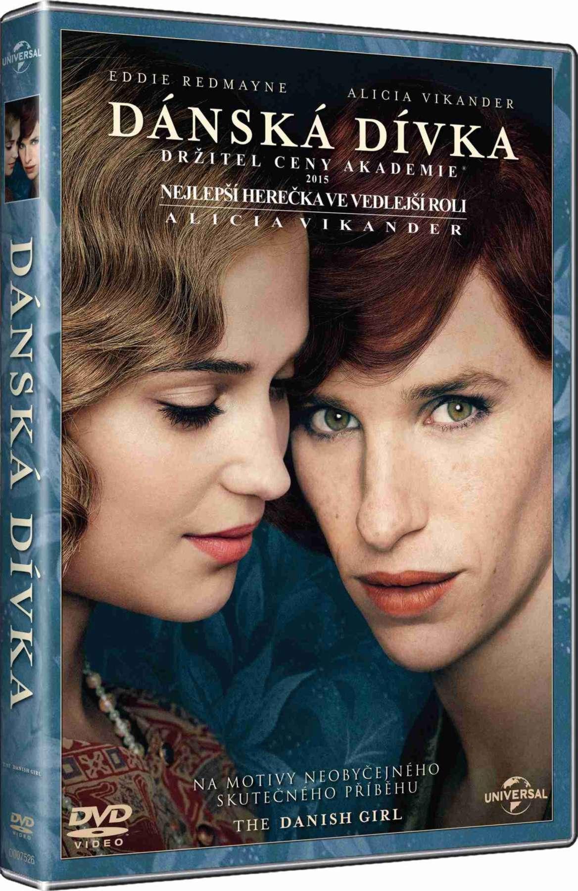 Dánská dívka - DVD