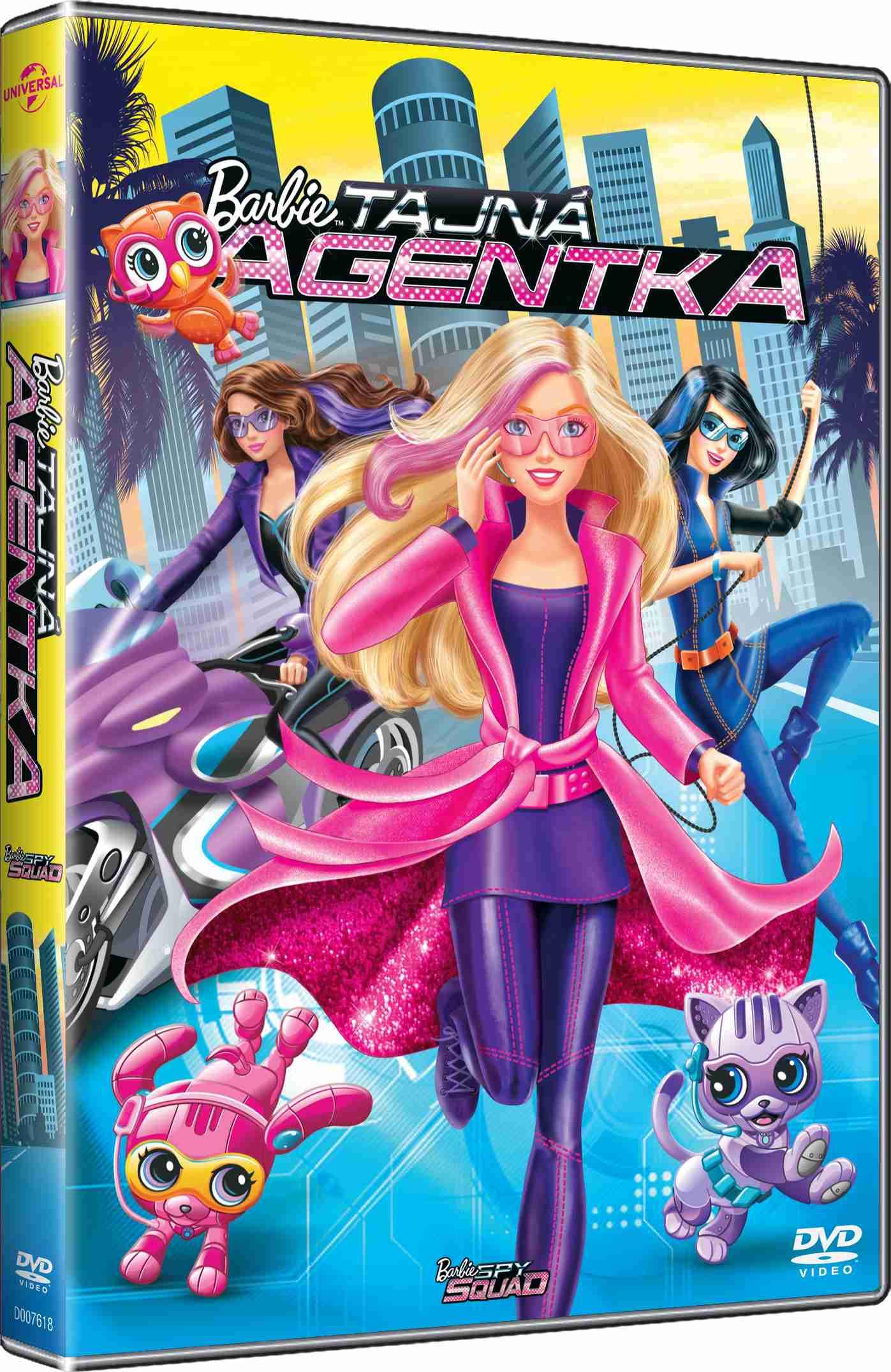 BARBIE: TAJNÁ AGENTKA - DVD