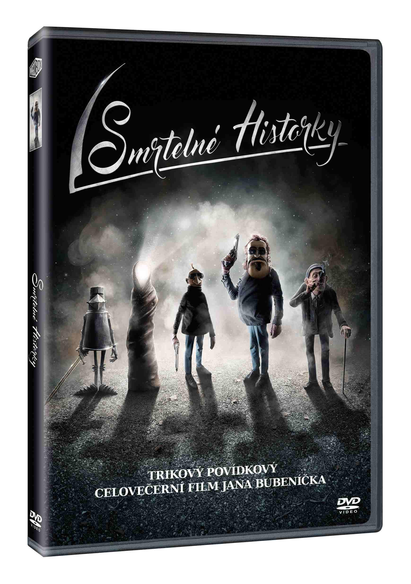 SMRTELNÉ HISTORKY - DVD