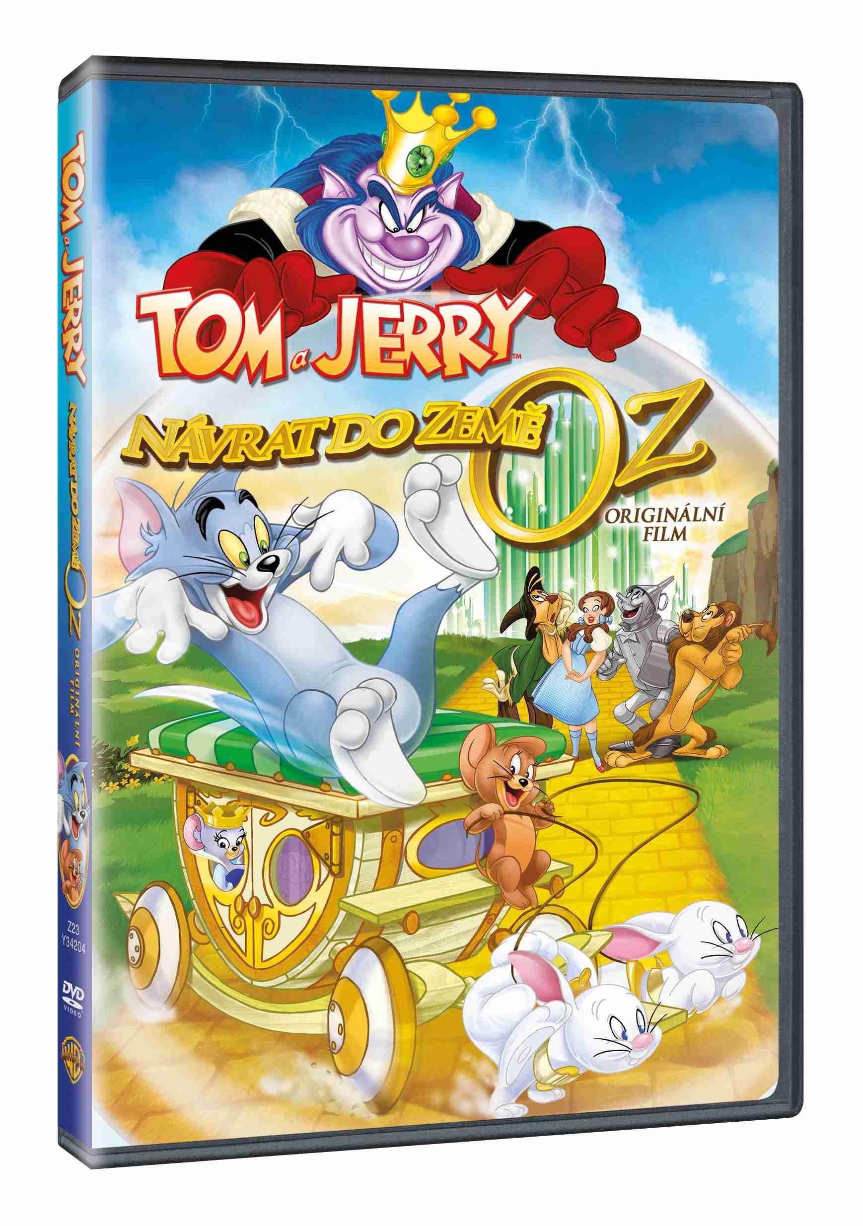 TOM A JERRY: NÁVRAT DO ZEMĚ OZ - DVD