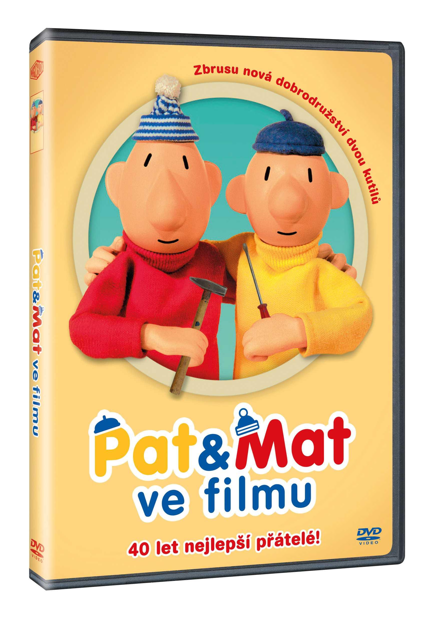 PAT A MAT VE FILMU - DVD