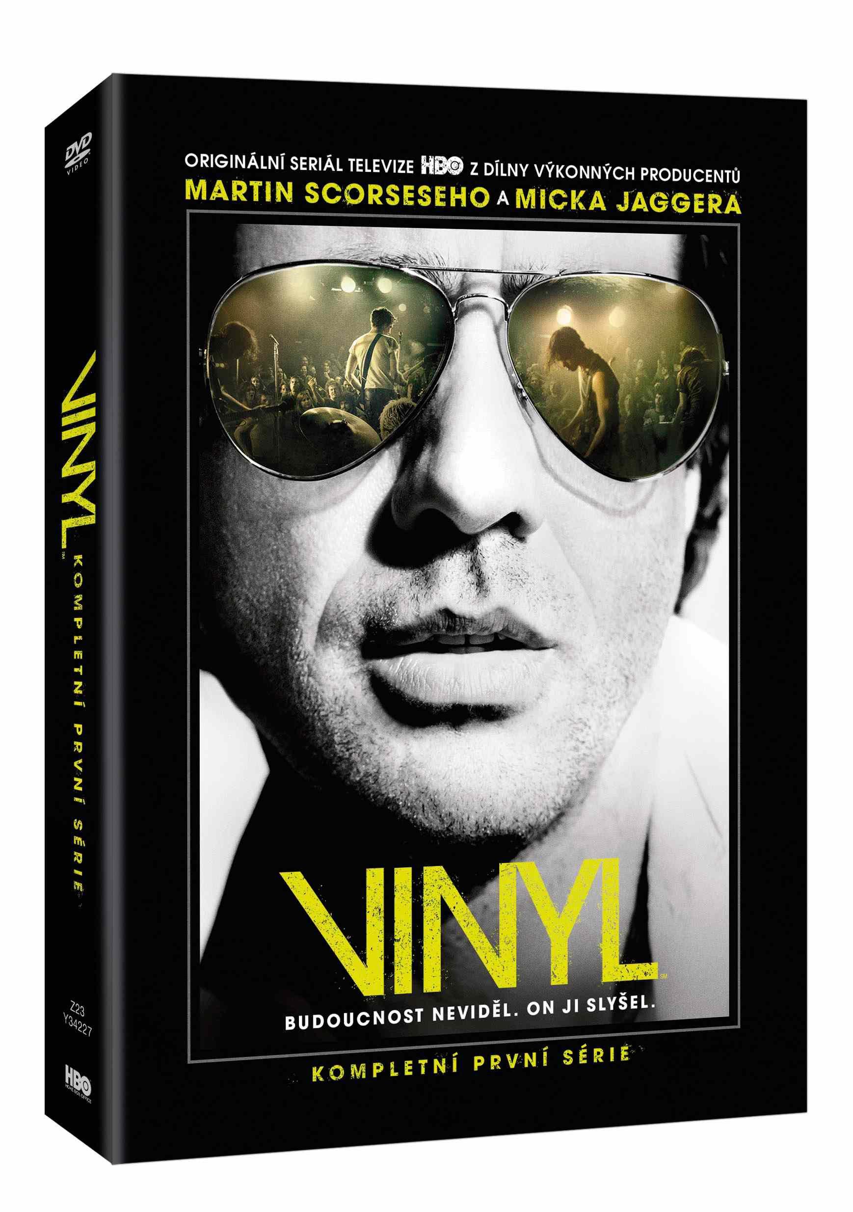 VINYL 1. SÉRIE - 4 DVD
