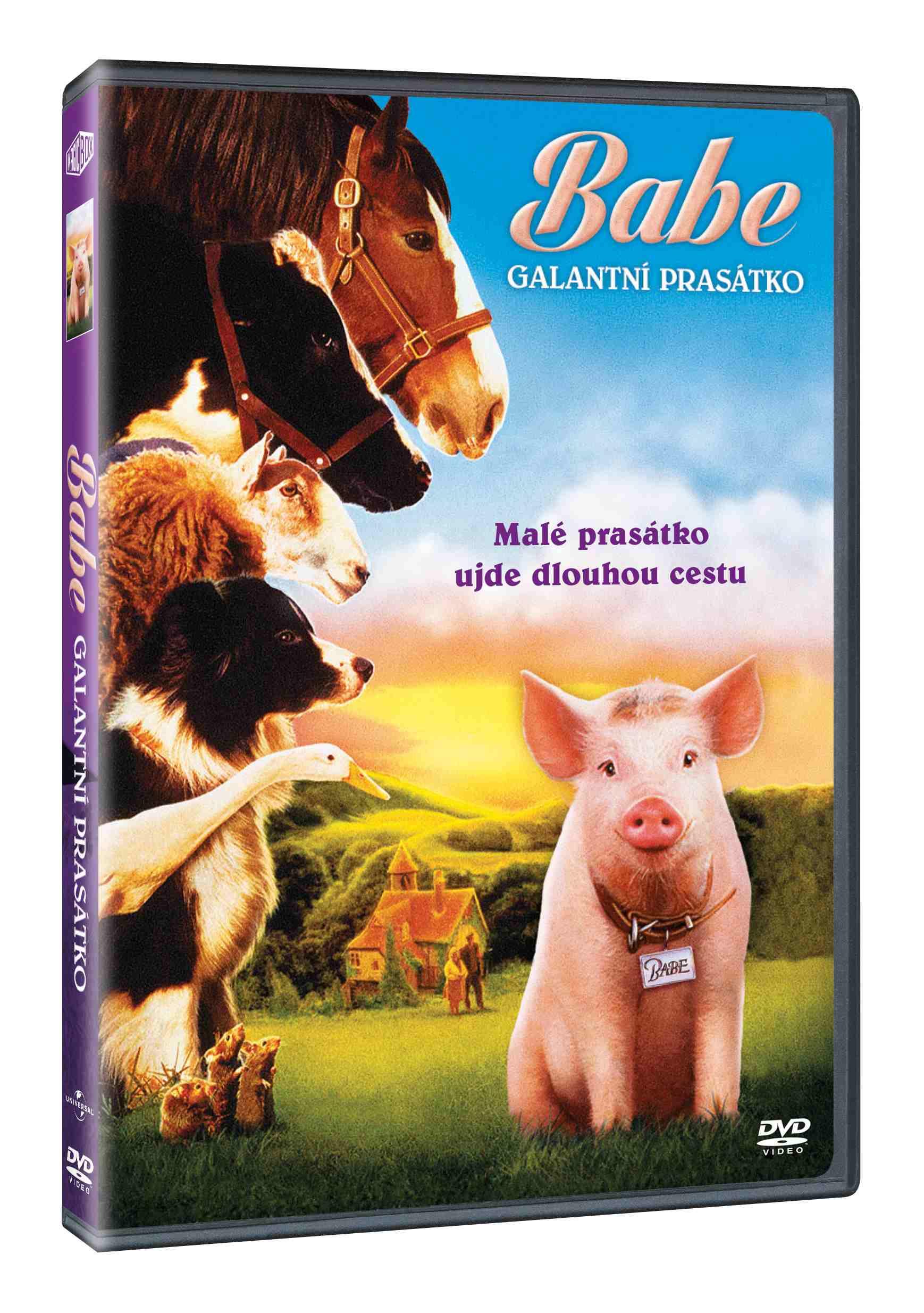 BABE: GALANTNÍ PRASÁTKO - DVD