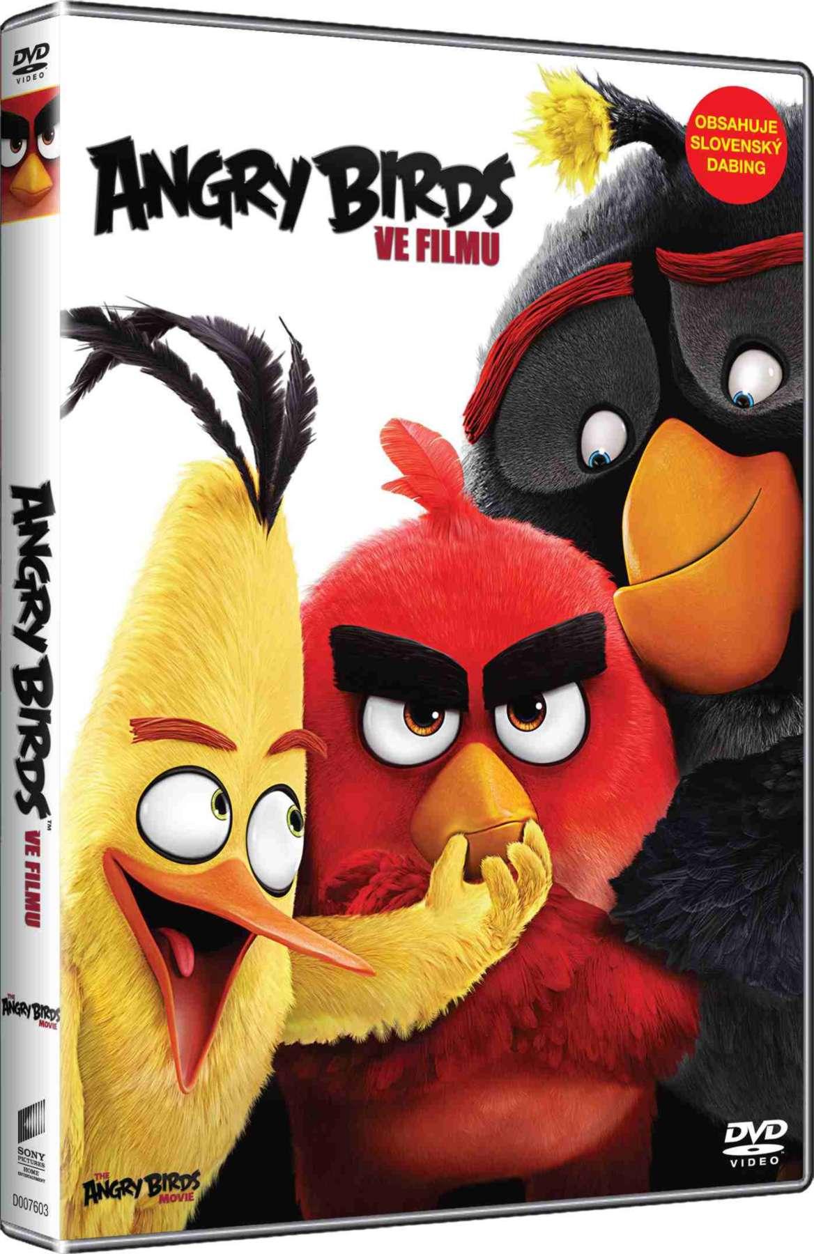 ANGRY BIRDS VE FILMU - DVD