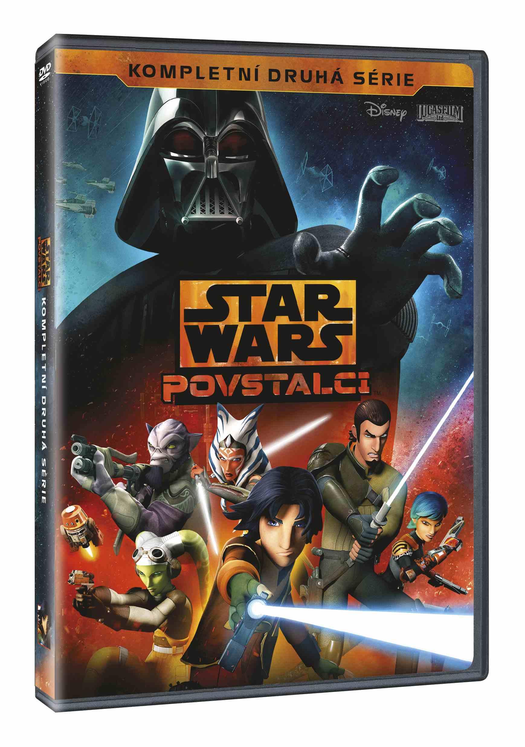 STAR WARS: POVSTALCI 2. SÉRIE - 4 DVD