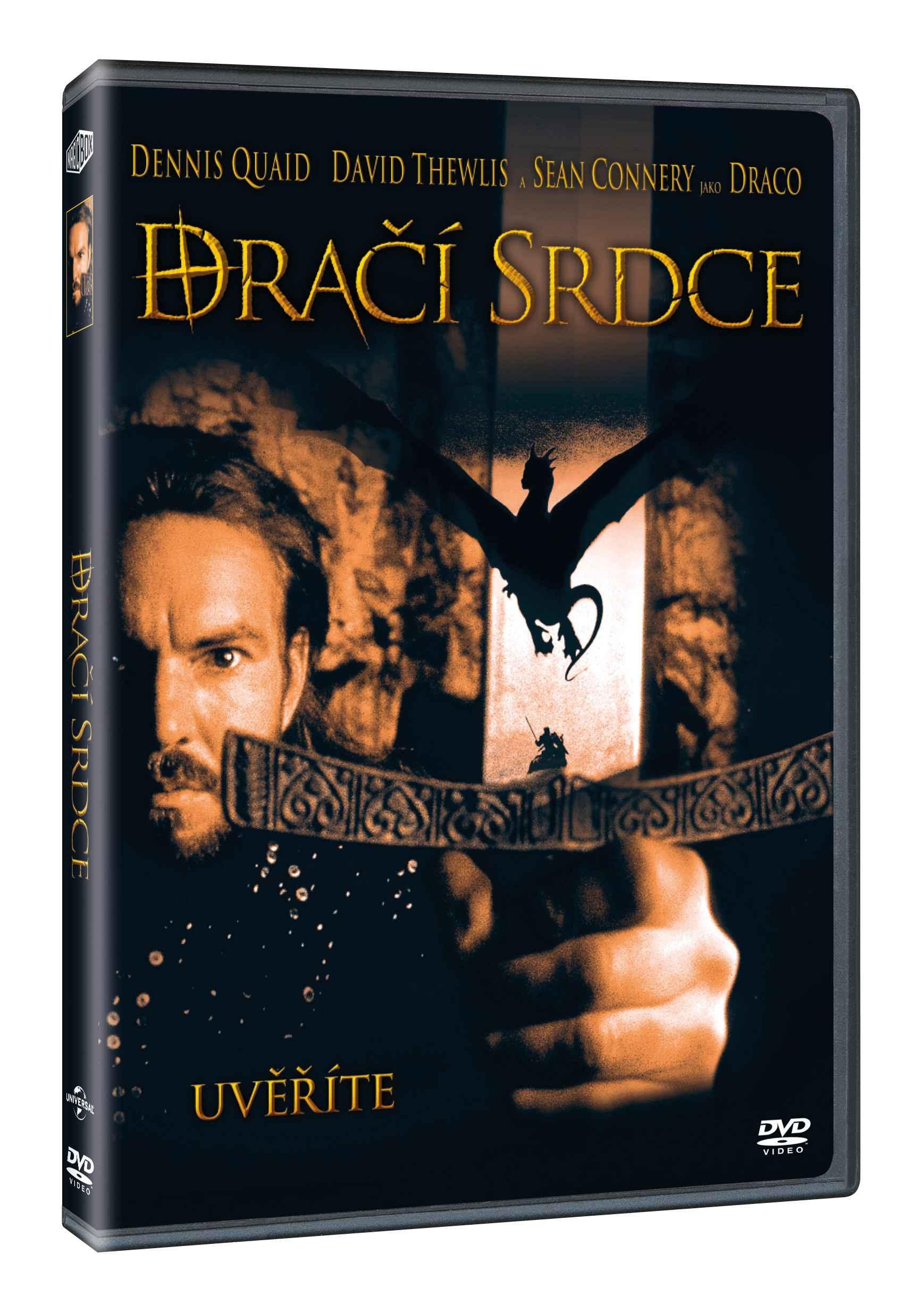 DRAČÍ SRDCE - DVD