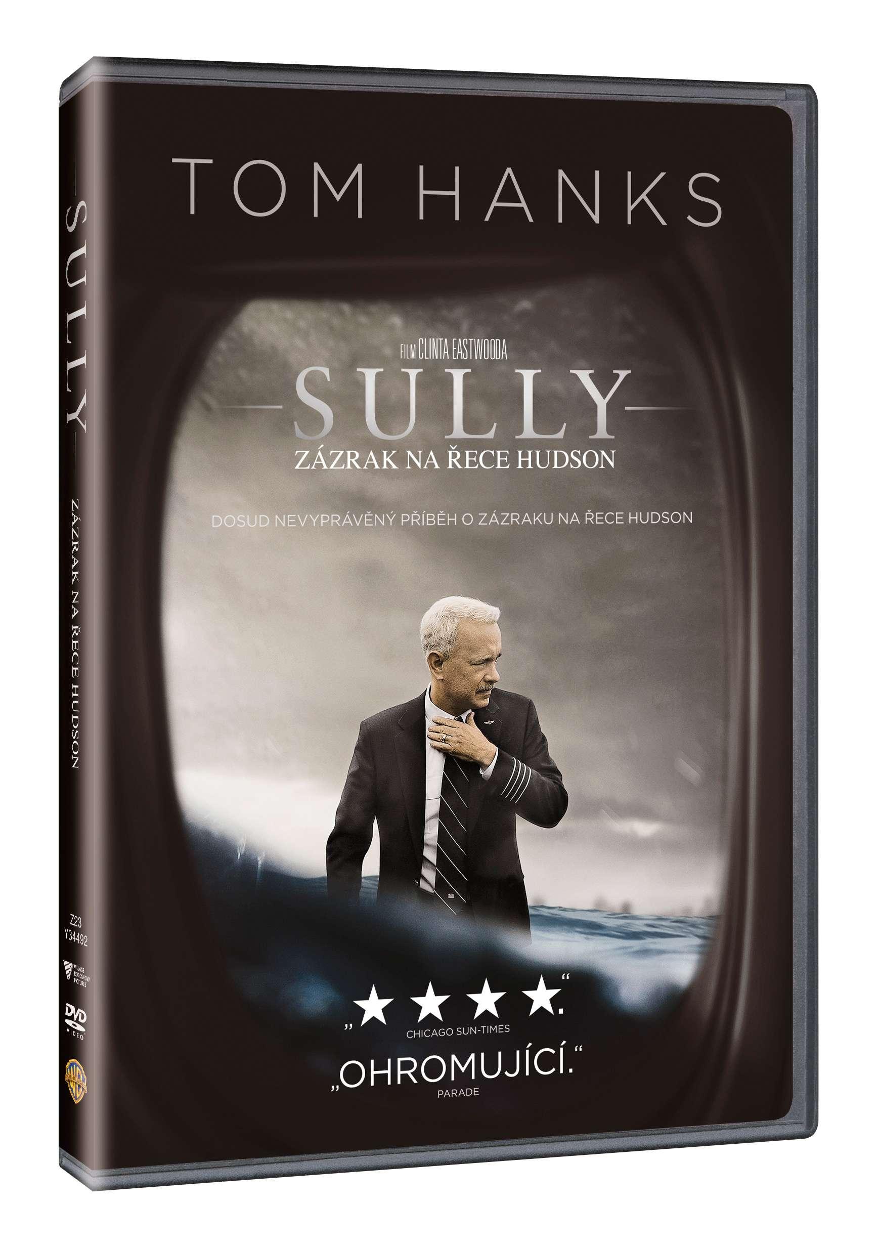 SULLY: ZÁZRAK NA ŘECE HUDSON - DVD