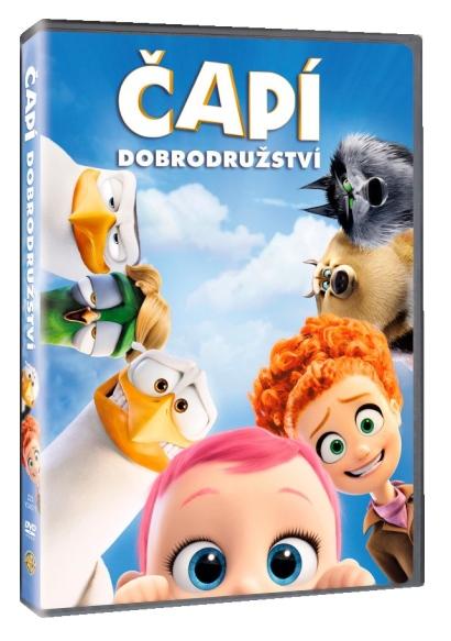 Čapí dobrodružství - DVD