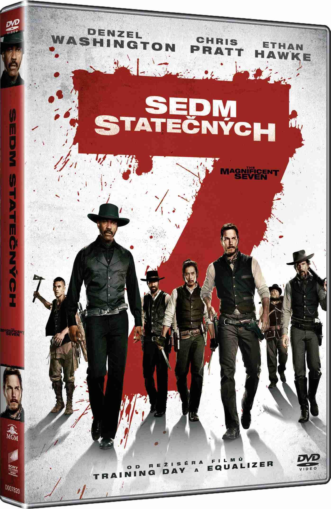 SEDM STATEČNÝCH (2016) - DVD