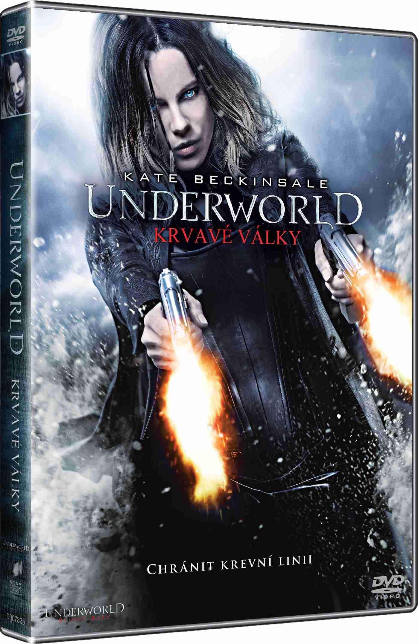UNDERWORLD: KRVAVÉ VÁLKY - DVD