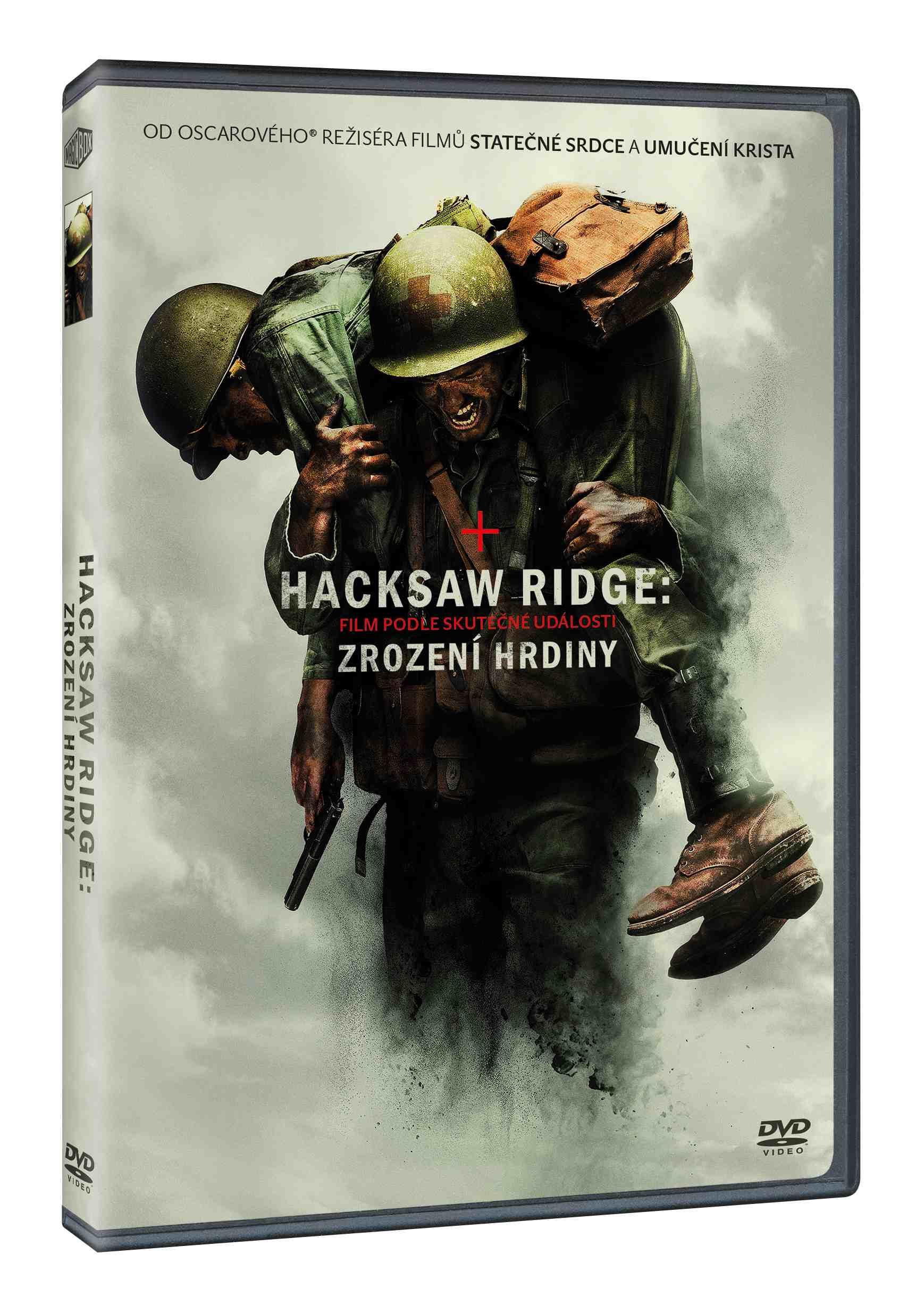 Hacksaw Ridge: zrození hrdiny- DVD