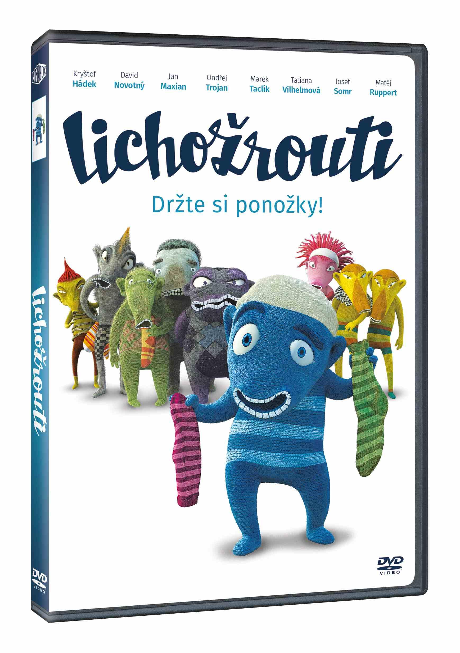LICHOŽROUTI - DVD
