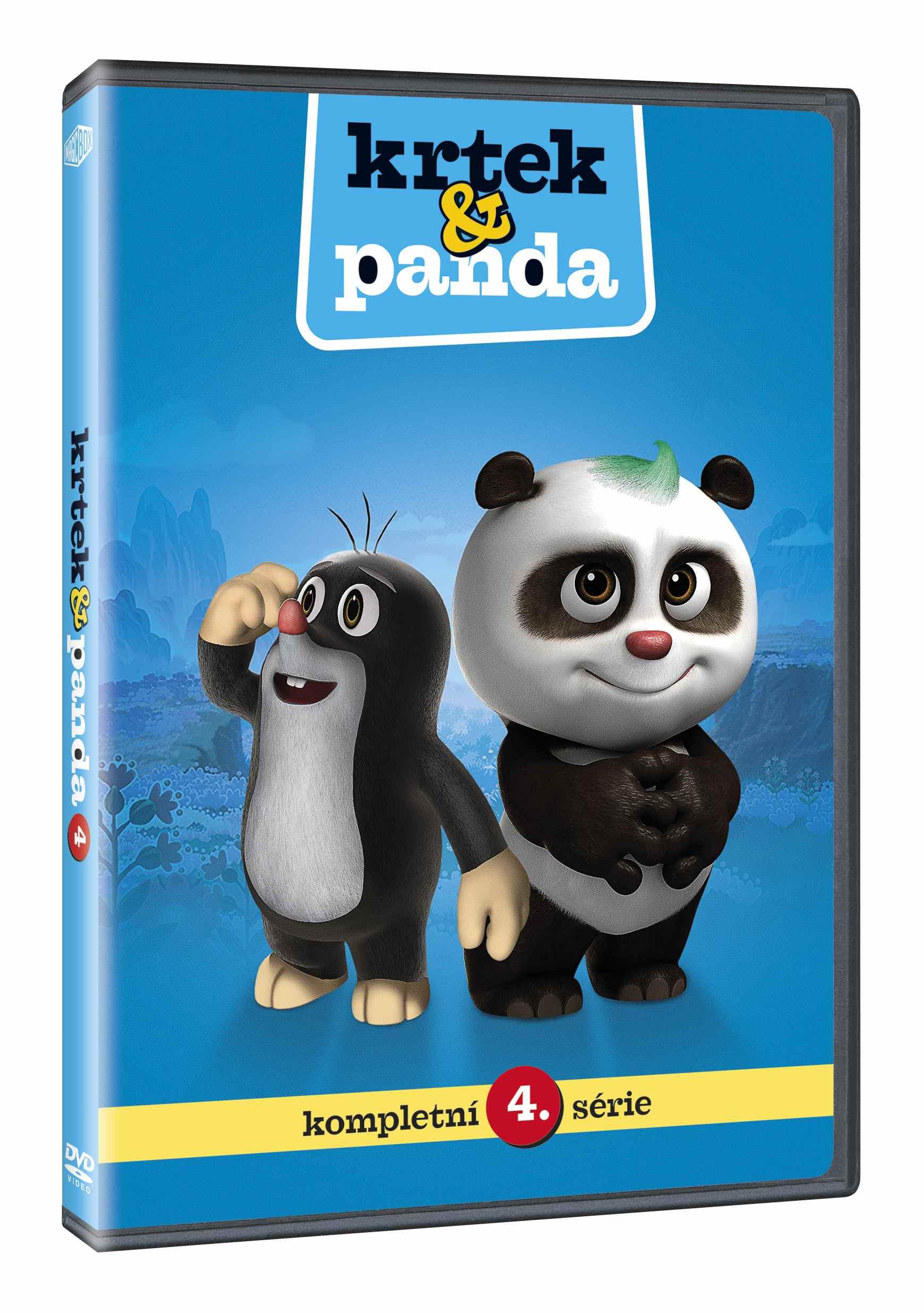 Krtek a Panda 4 - DVD