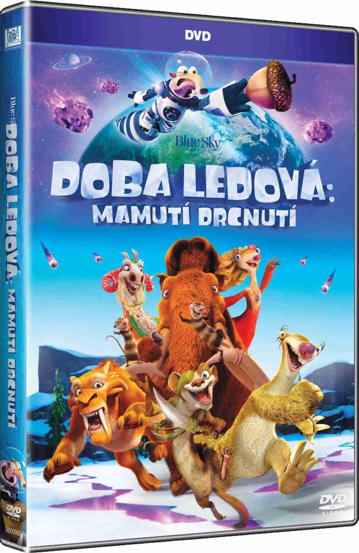 Doba ledová 5: Mamutí drcnutí - DVD