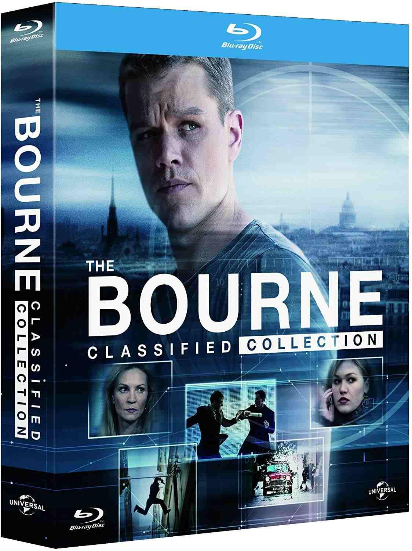 Bourneova kolekce 1-5 Limitovaná edice Blu-ray + DVD bonus