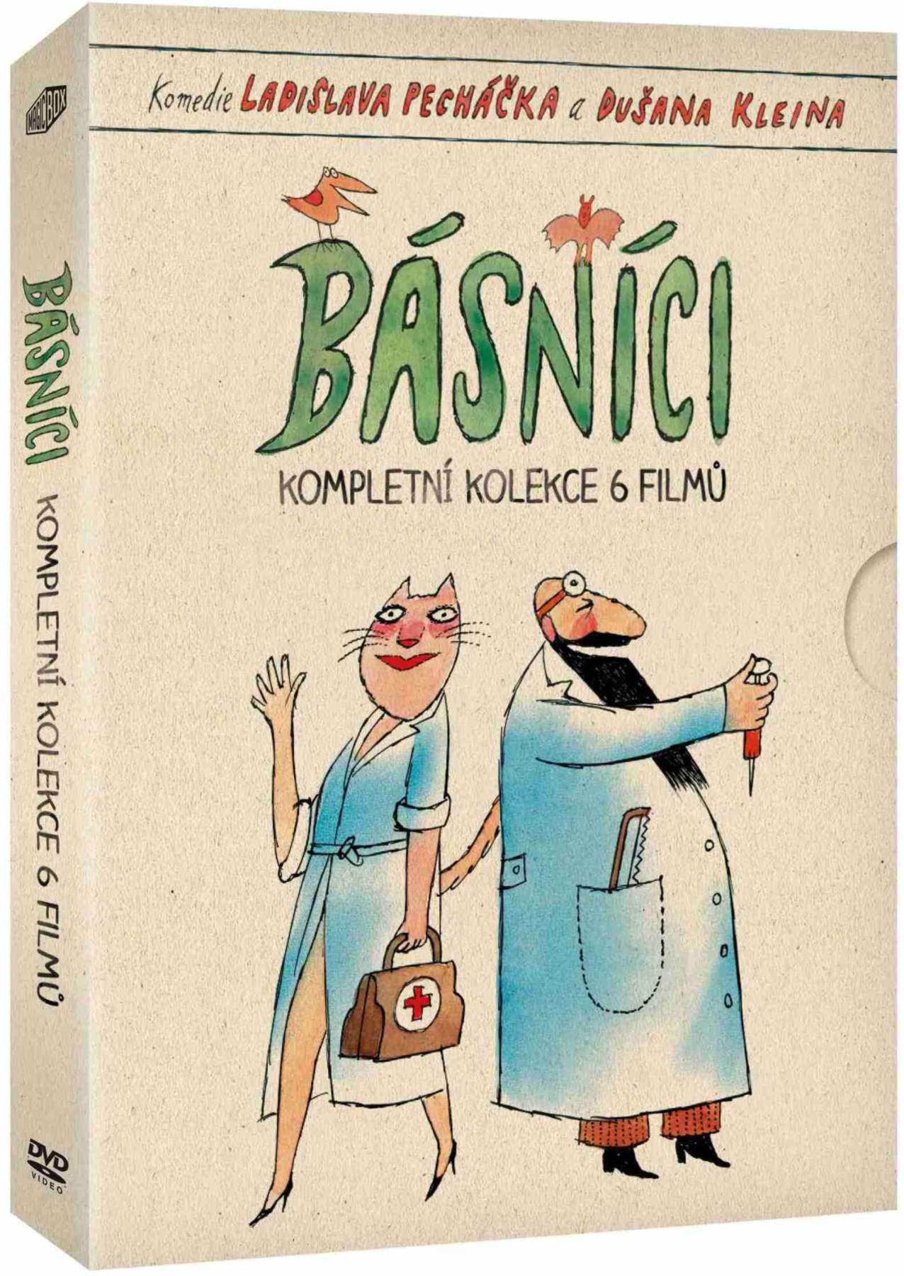 BÁSNÍCI KOLEKCE - 6 DVD